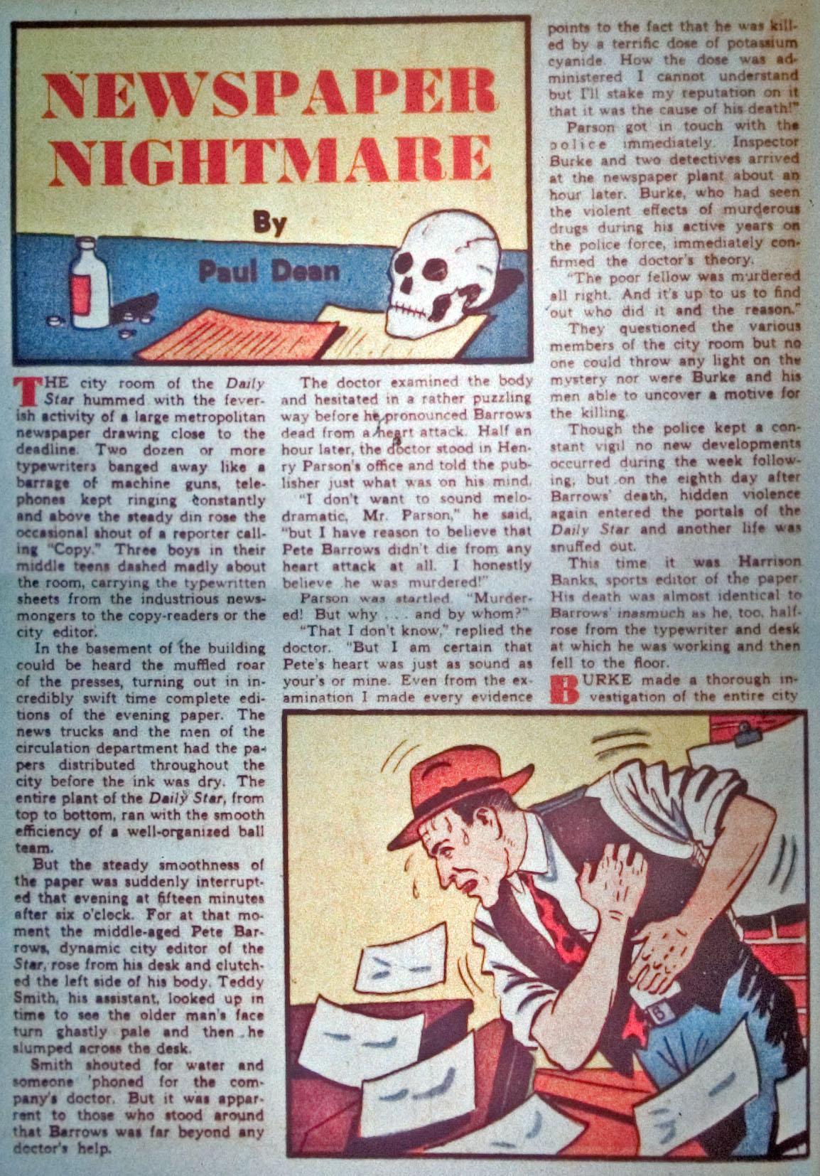 Read online Detective Comics (1937) comic -  Issue #31 - 34