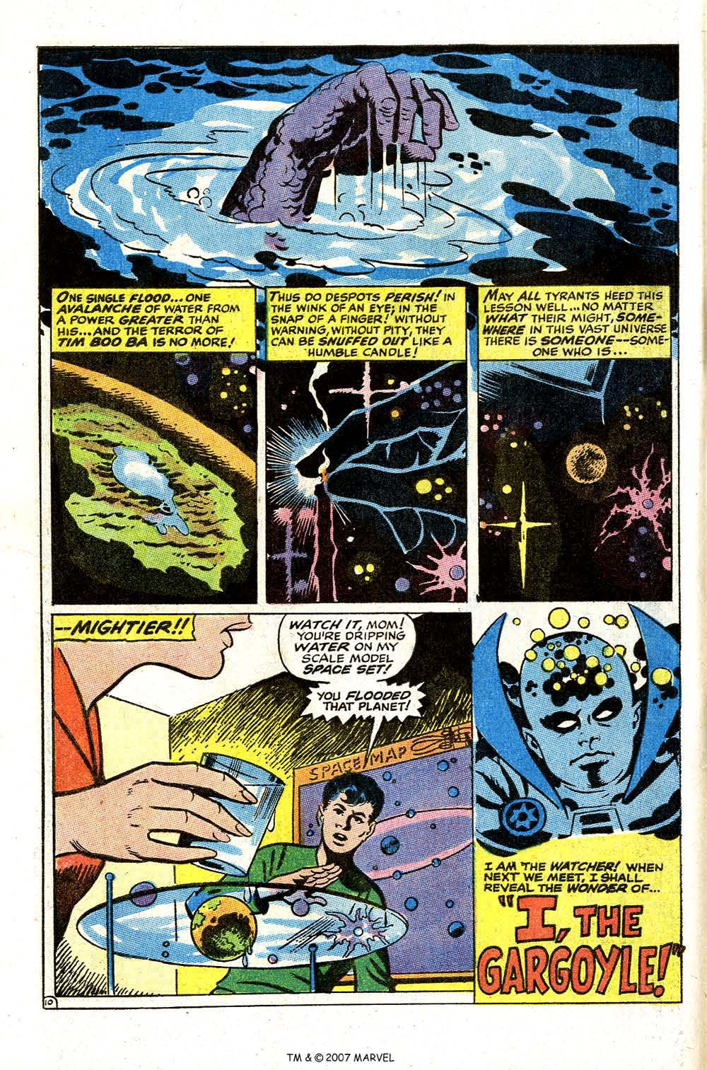 Read online Silver Surfer (1968) comic -  Issue #4 - 62