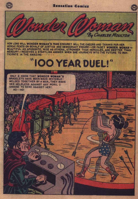 Read online Sensation (Mystery) Comics comic -  Issue #103 - 2