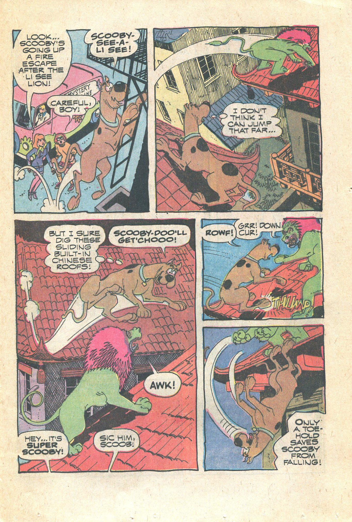Read online Scooby-Doo... Where Are You! (1970) comic -  Issue #16 - 21