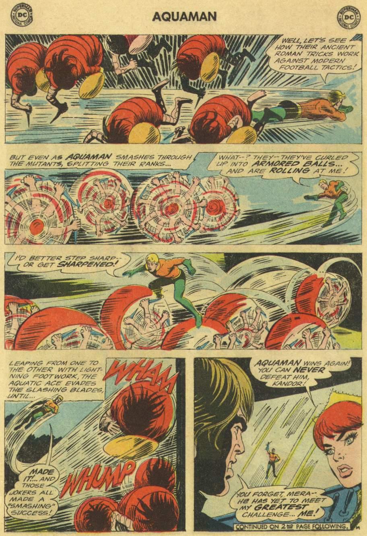 Read online Aquaman (1962) comic -  Issue #22 - 18