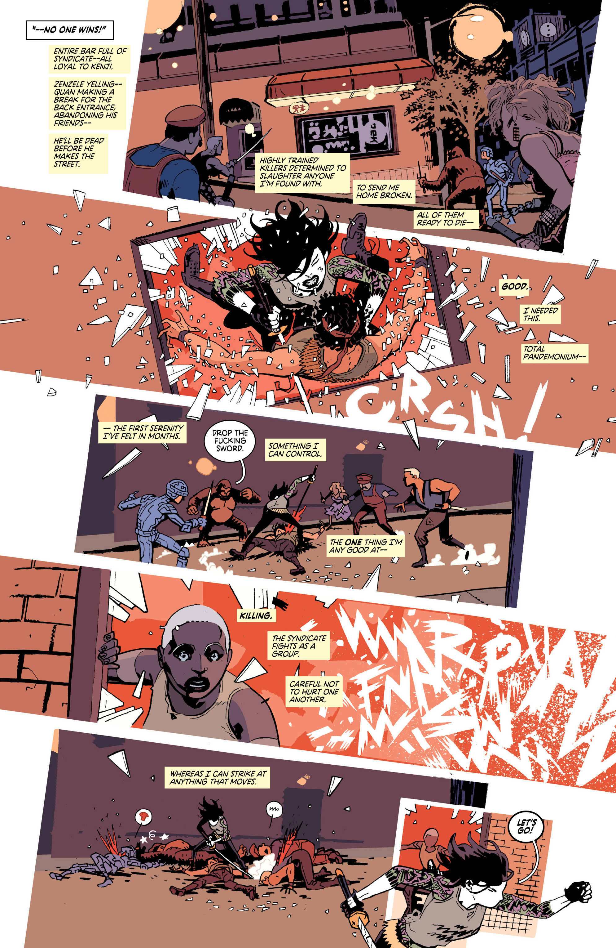 Read online Deadly Class comic -  Issue #25 - 6