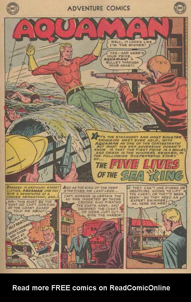 Read online Adventure Comics (1938) comic -  Issue #185 - 17