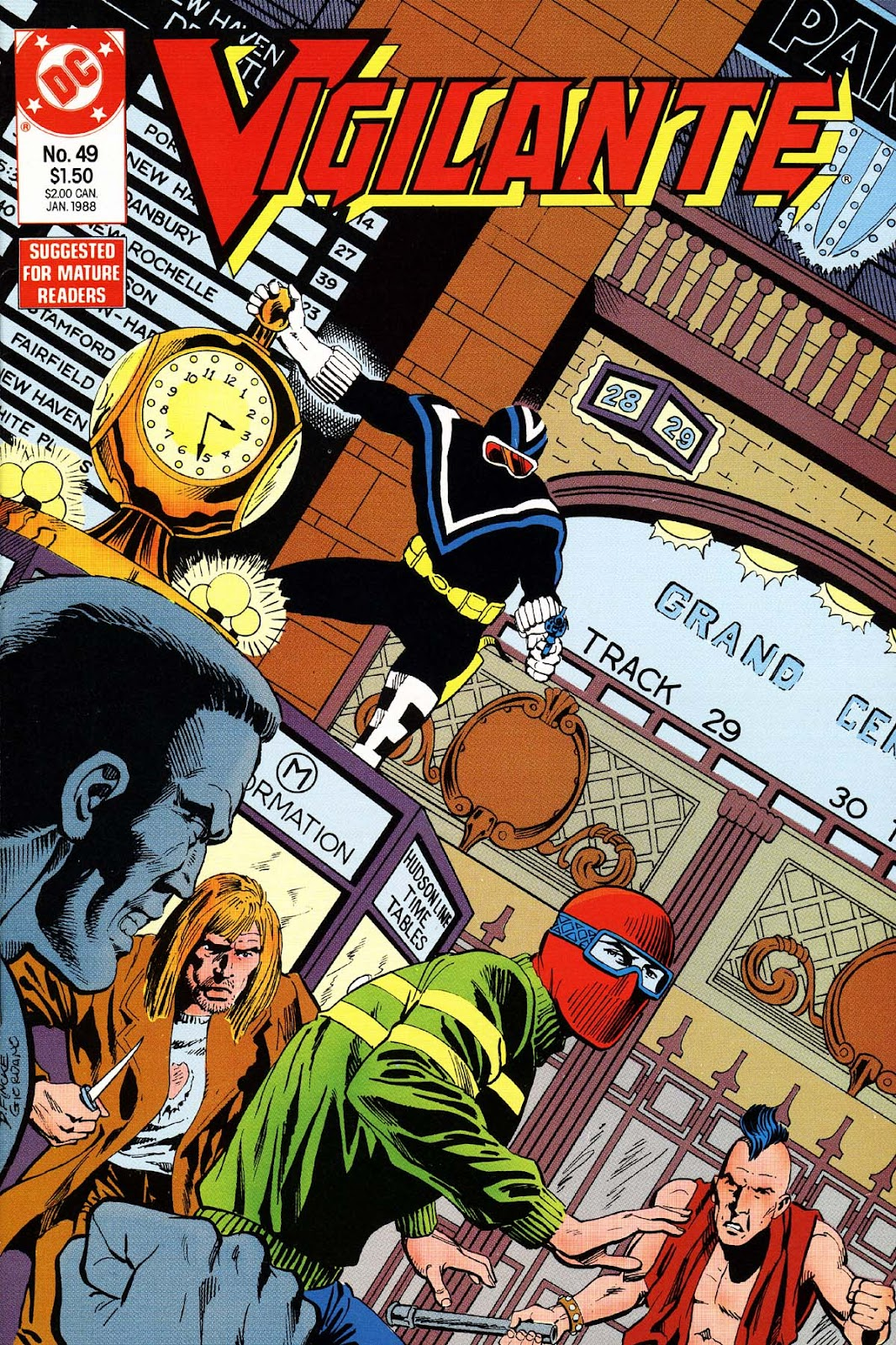 Vigilante (1983) issue 49 - Page 1