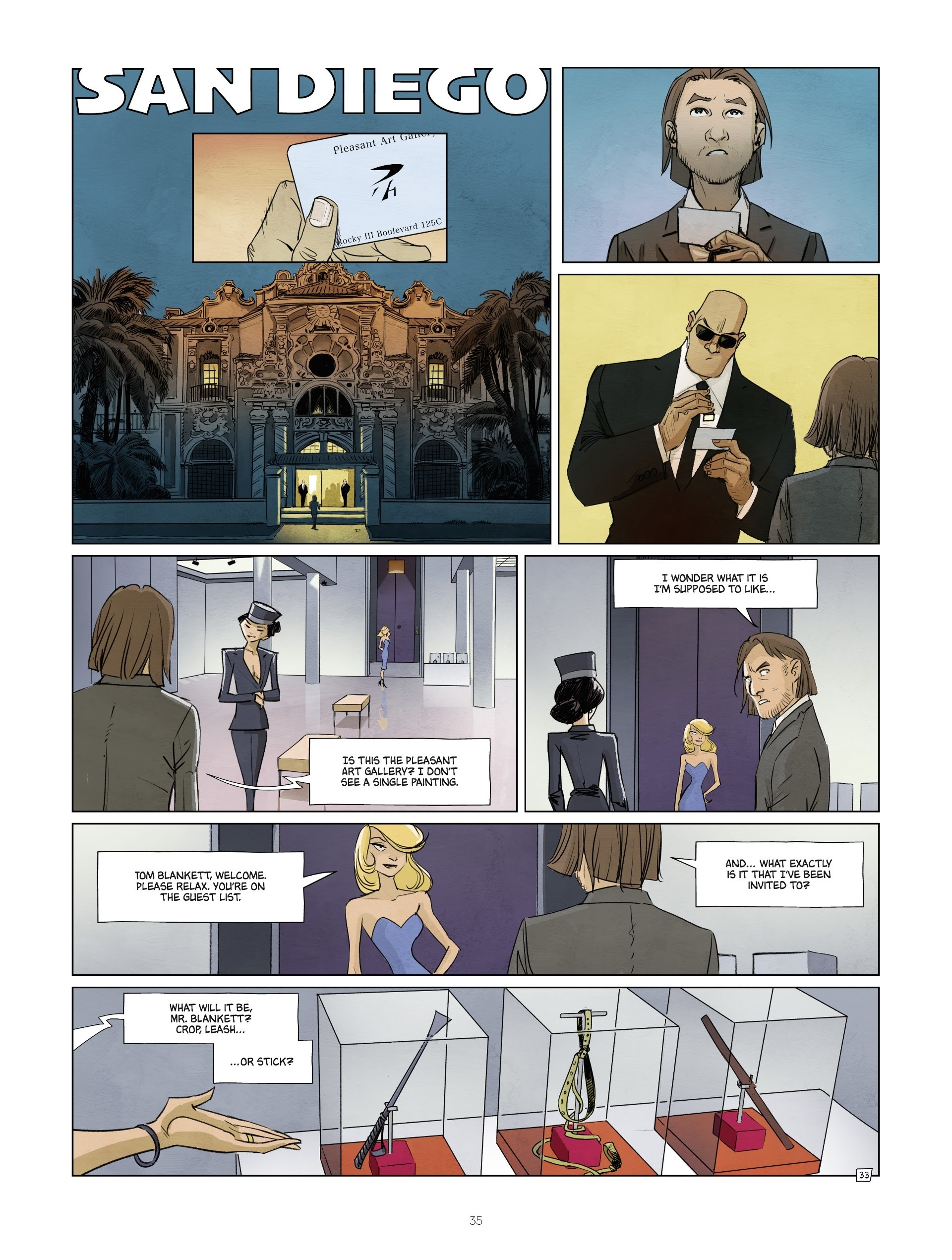 Read online Jack Wolfgang comic -  Issue #3 - 37