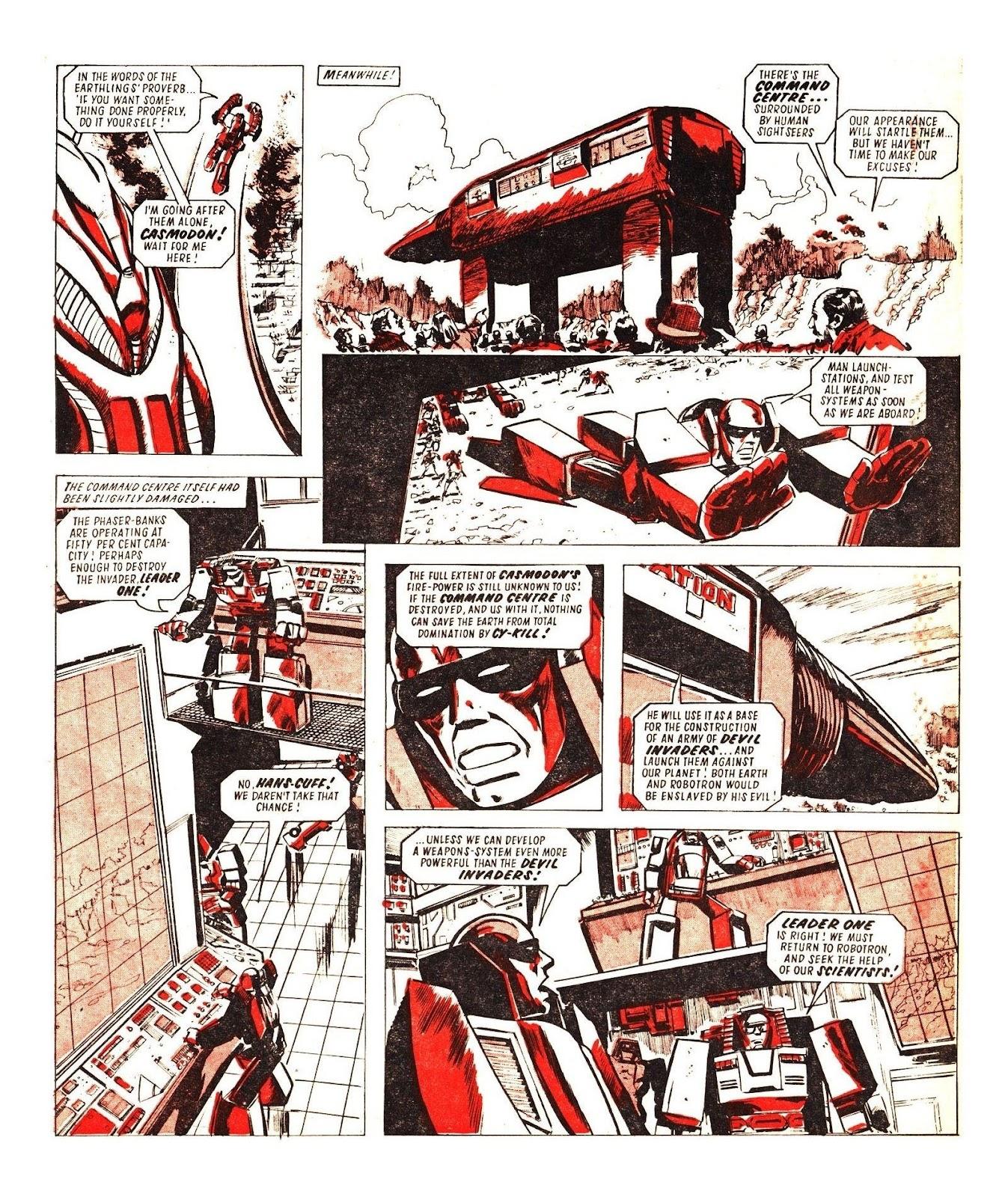 Read online Robo Machines comic -  Issue # TPB - 116