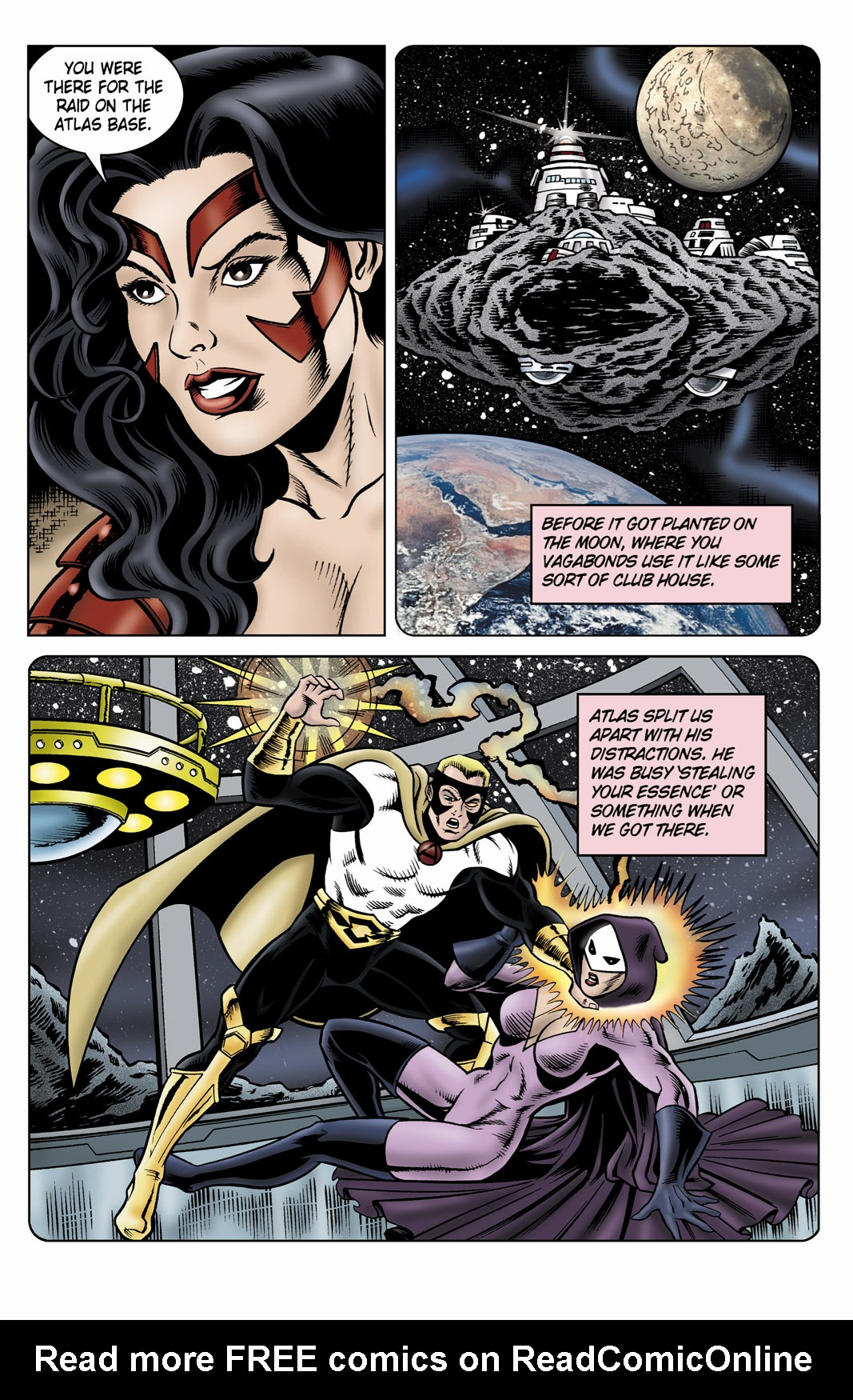 Read online SideChicks comic -  Issue #4 - 6