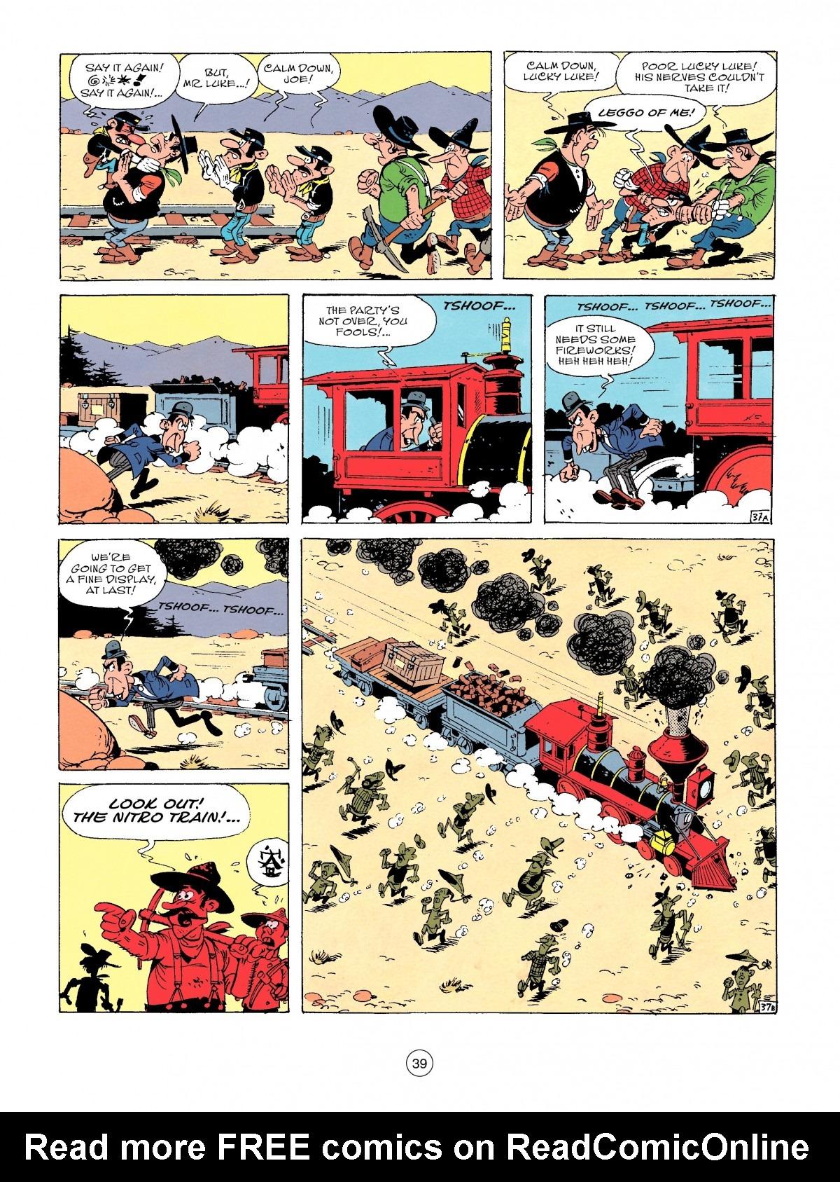 Read online A Lucky Luke Adventure comic -  Issue #53 - 39