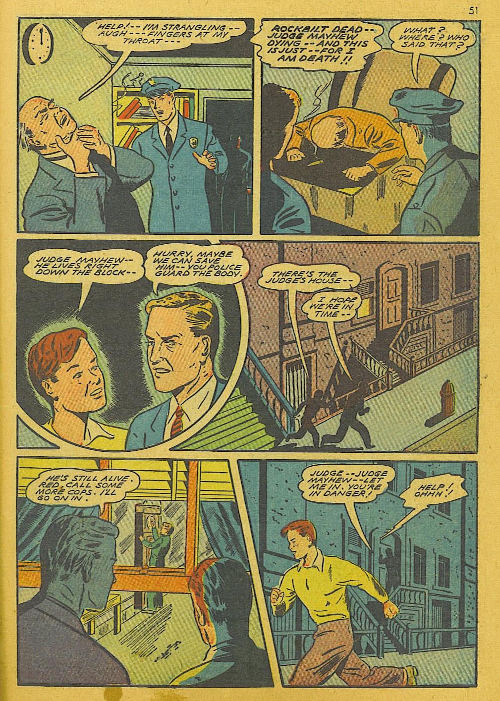 Read online Super-Magician Comics comic -  Issue #10 - 51
