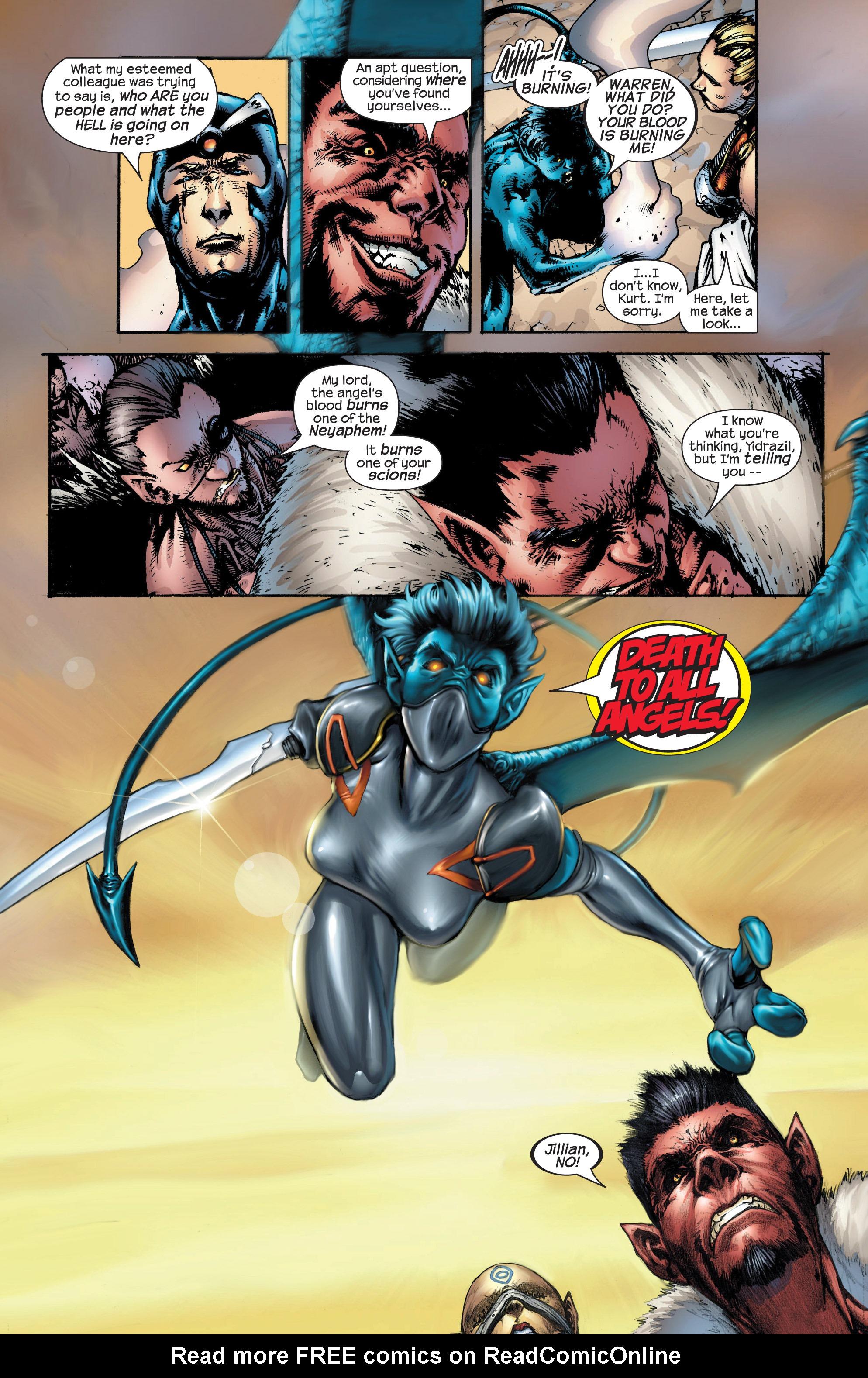 Read online Uncanny X-Men (1963) comic -  Issue #431 - 8