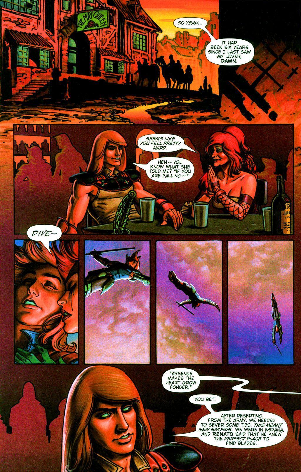 Read online Dawn: Three Tiers comic -  Issue #2 - 3