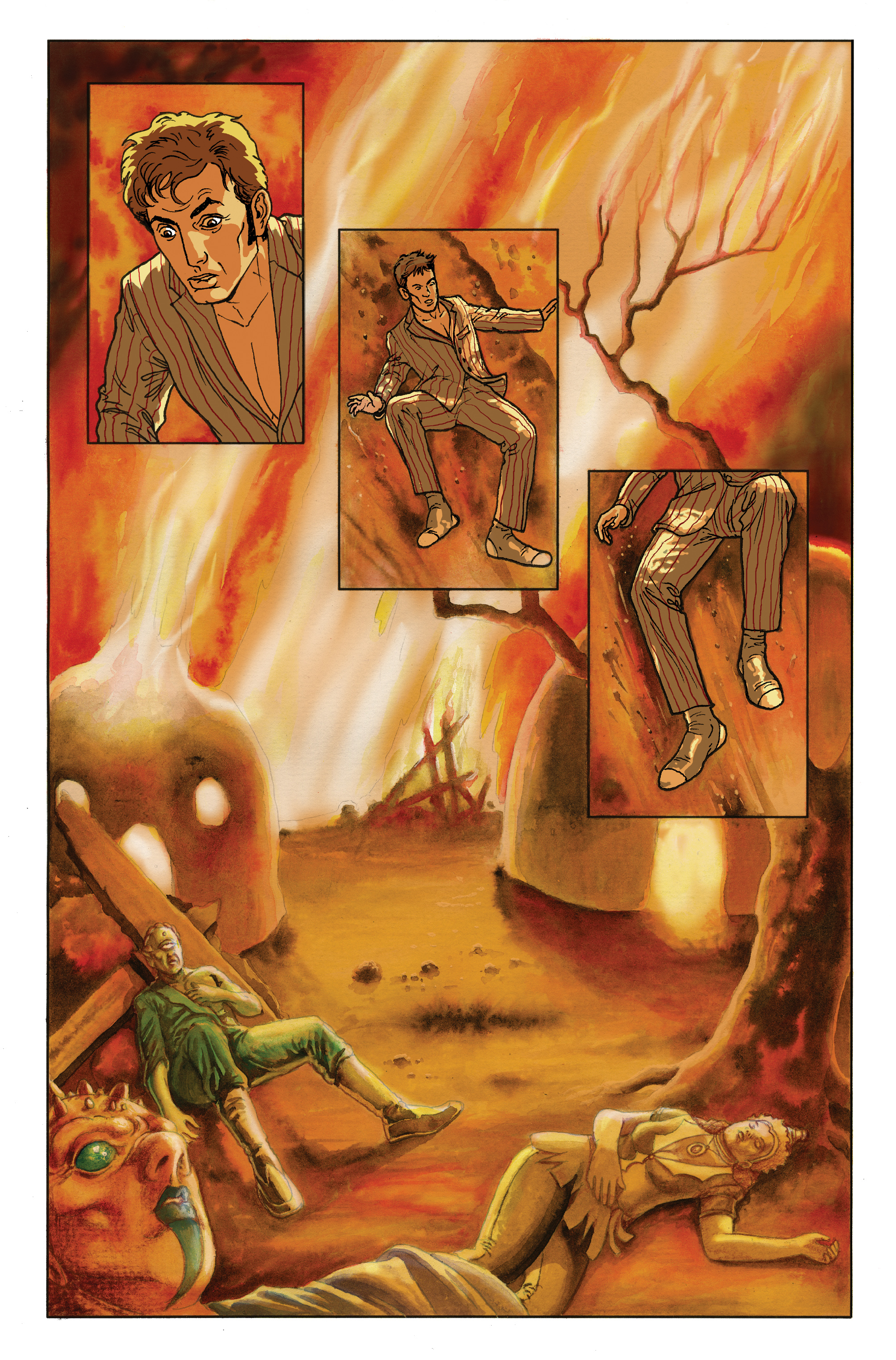 Read online Doctor Who: The Tenth Doctor Archives comic -  Issue #35 - 39