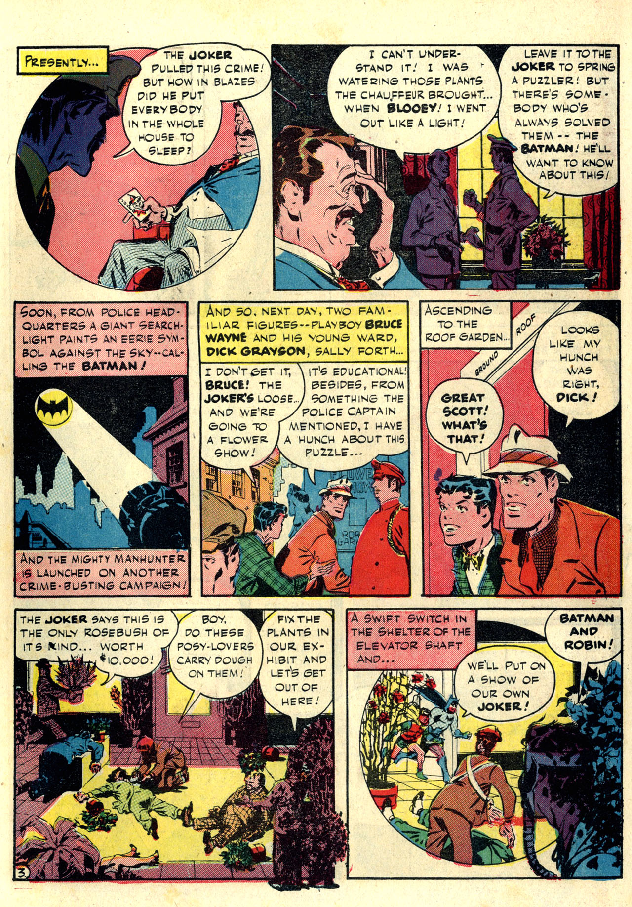 Read online Detective Comics (1937) comic -  Issue #76 - 5