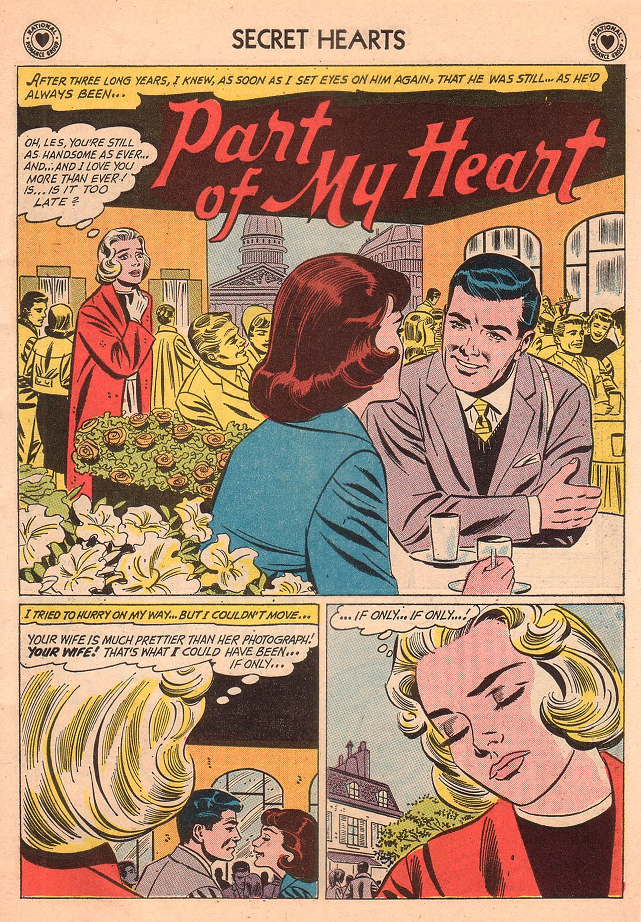 Read online Secret Hearts comic -  Issue #74 - 11