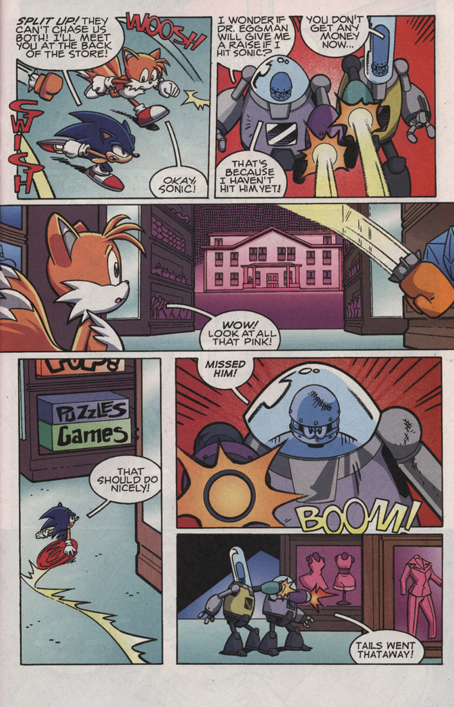 Read online Sonic X comic -  Issue #21 - 23