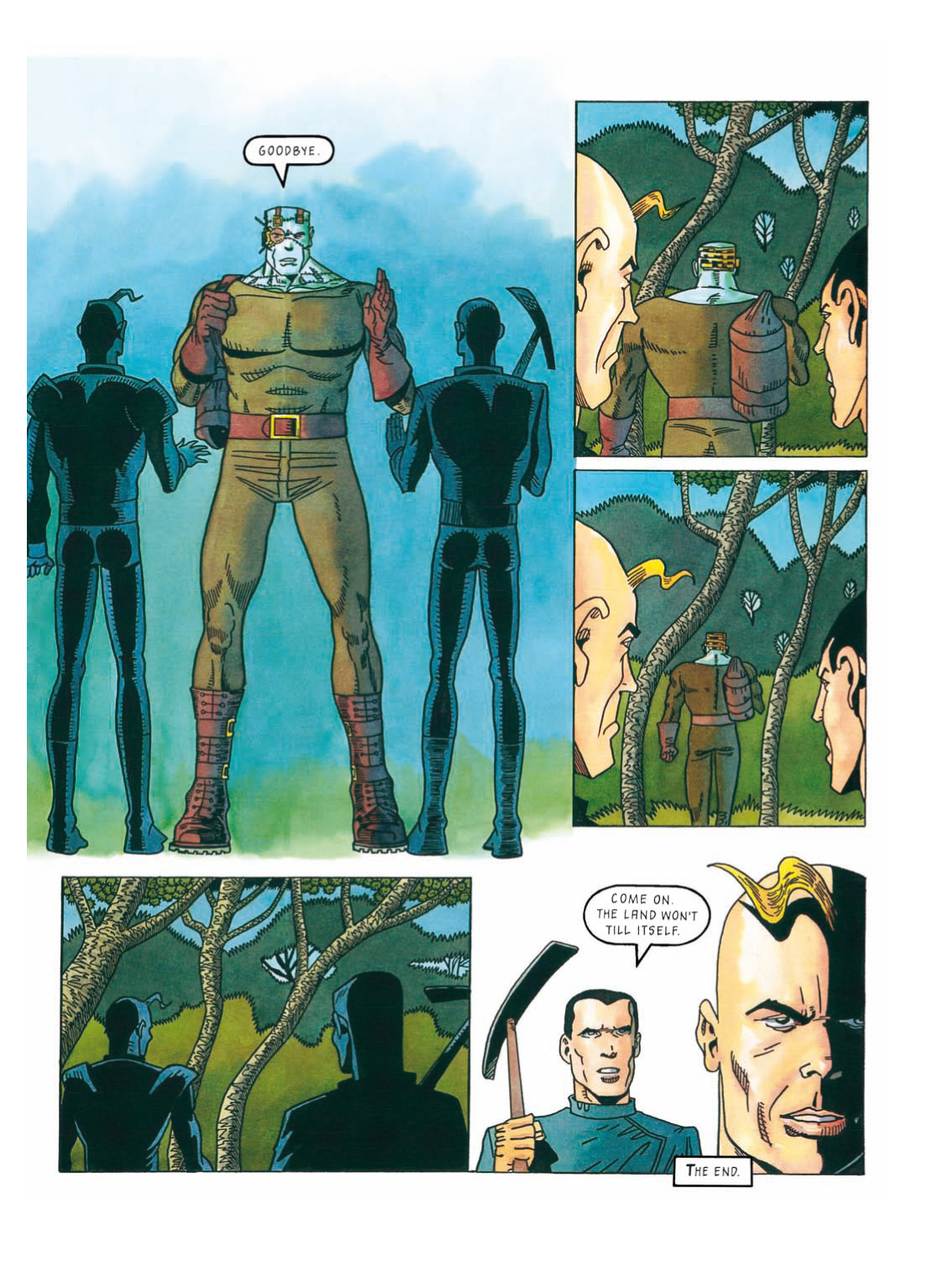 Read online The Complete Bad Company comic -  Issue # TPB - 322