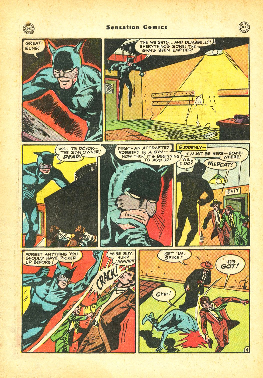 Read online Sensation (Mystery) Comics comic -  Issue #86 - 46
