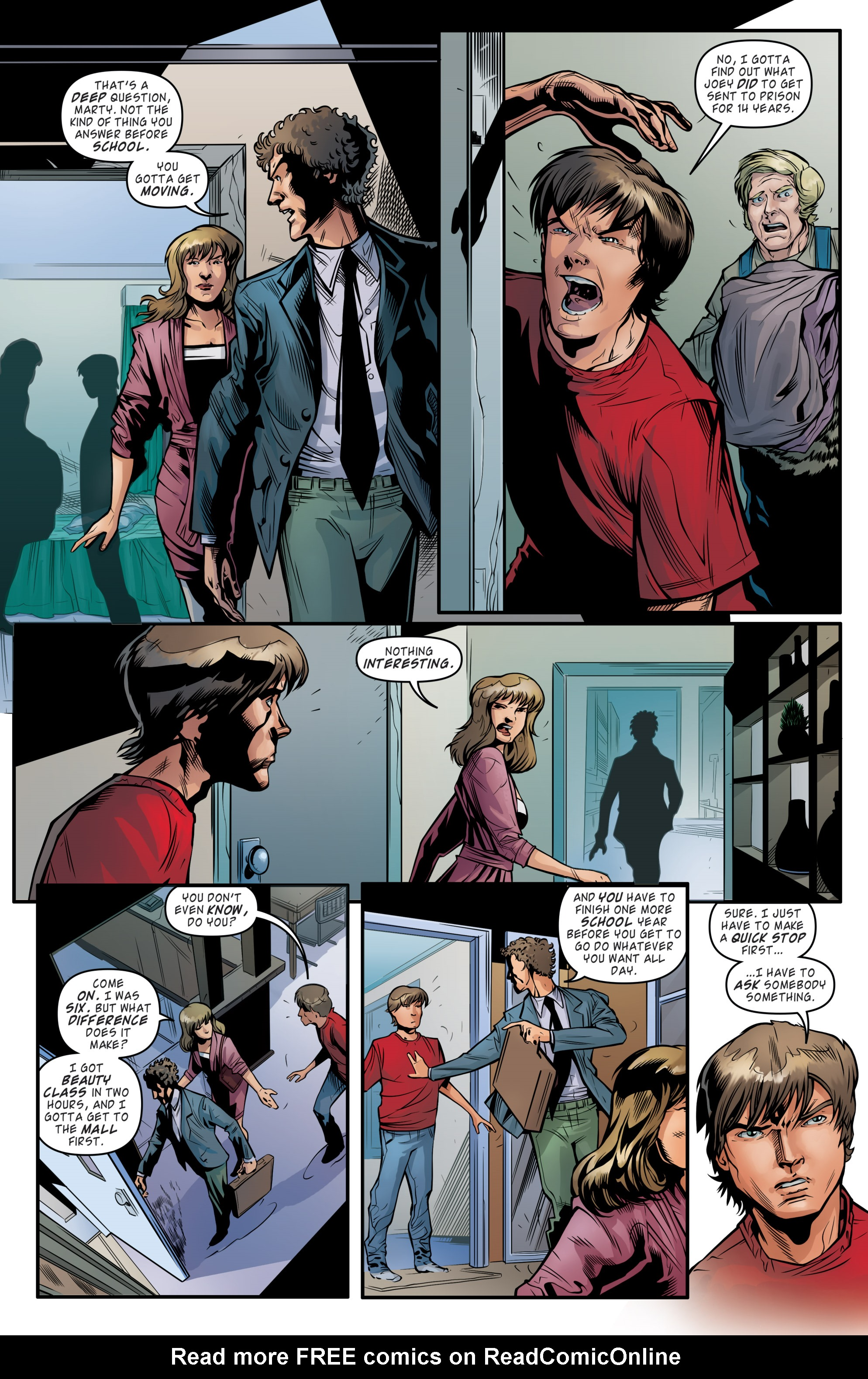 Read online Back to the Future (2015) comic -  Issue #19 - 13