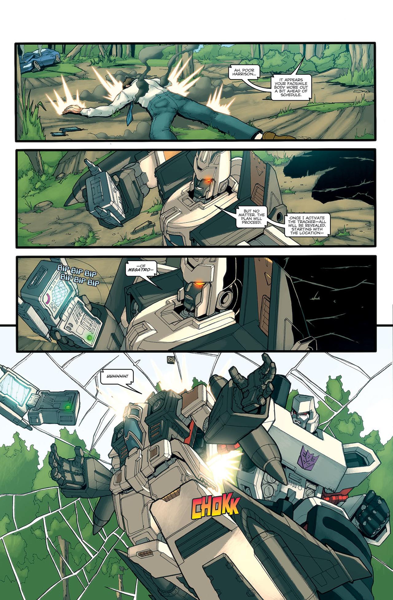 Read online Transformers Spotlight: Ramjet comic -  Issue # Full - 20