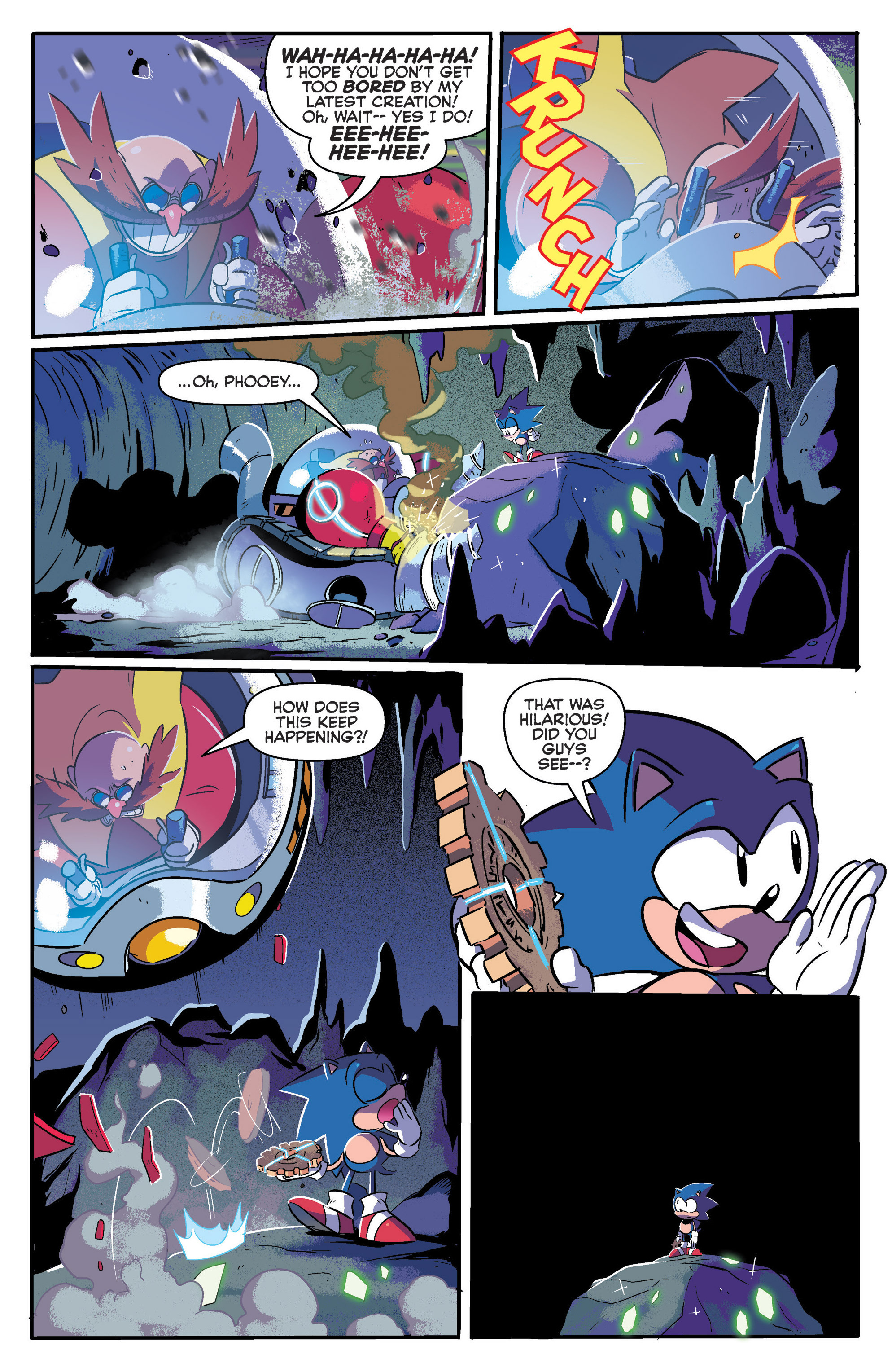 Read online Sonic: Mega Drive - The Next Level comic -  Issue # Full - 13