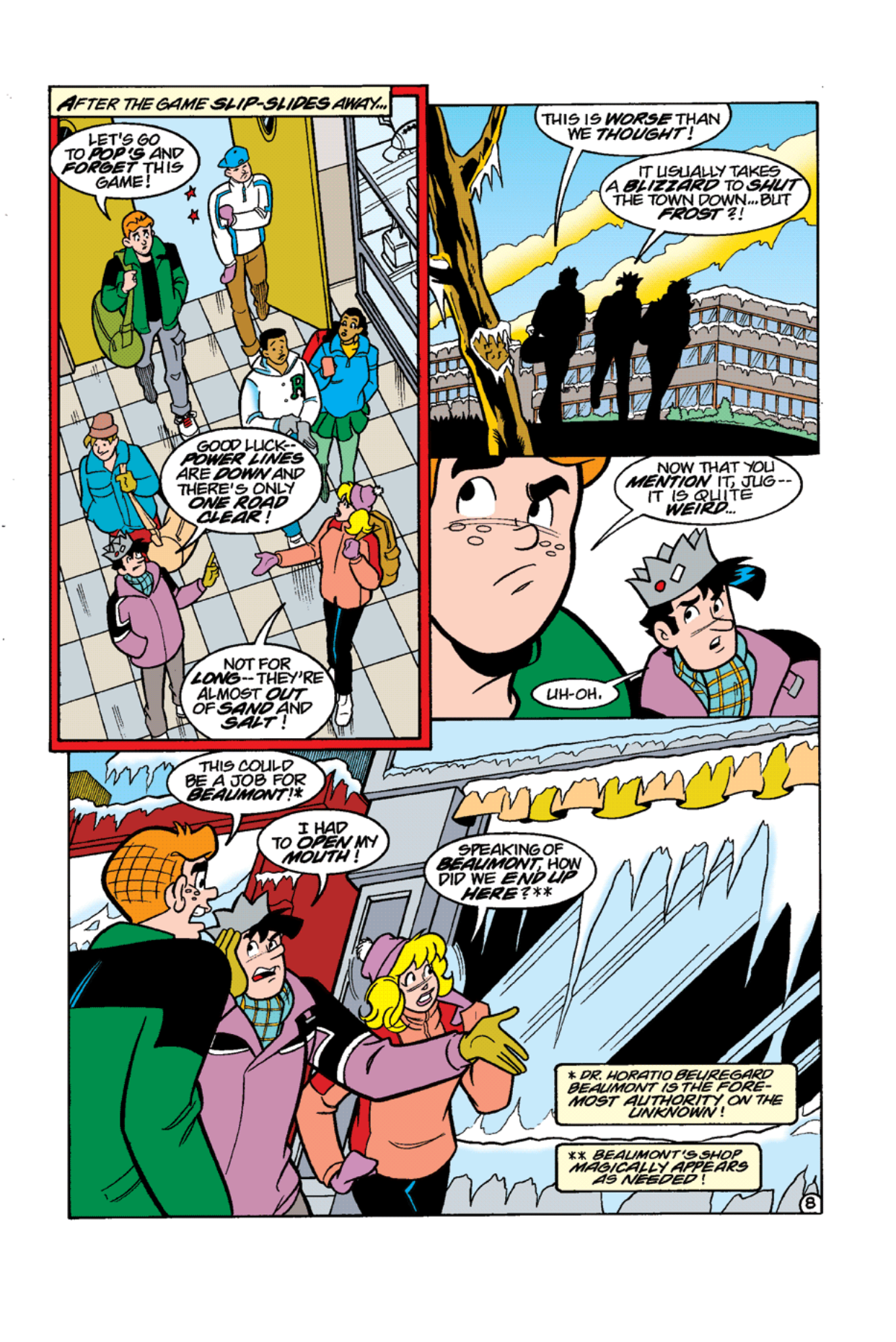 Read online Archie's Weird Mysteries comic -  Issue #11 - 10
