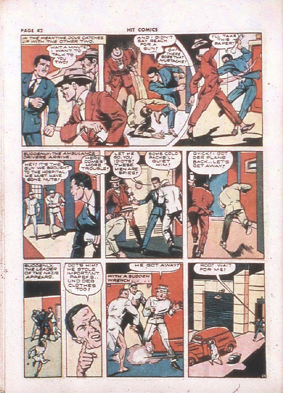Read online Hit Comics comic -  Issue #24 - 44
