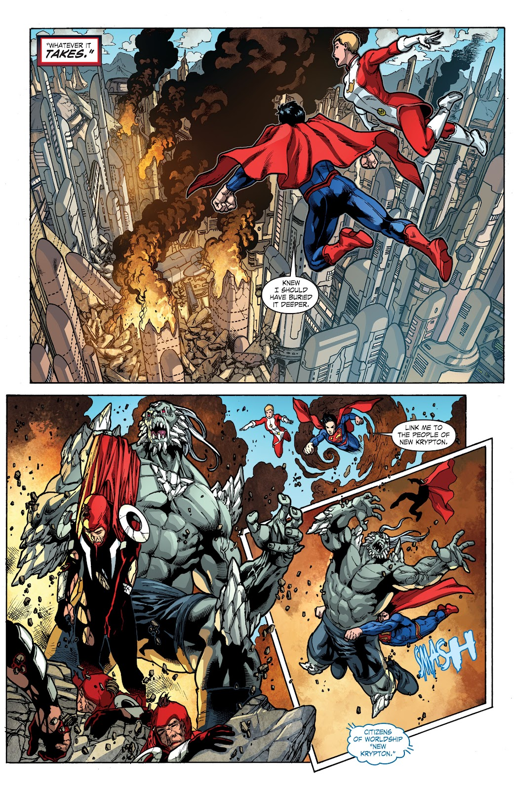 Read online Smallville Season 11 [II] comic -  Issue # TPB 4 - 84