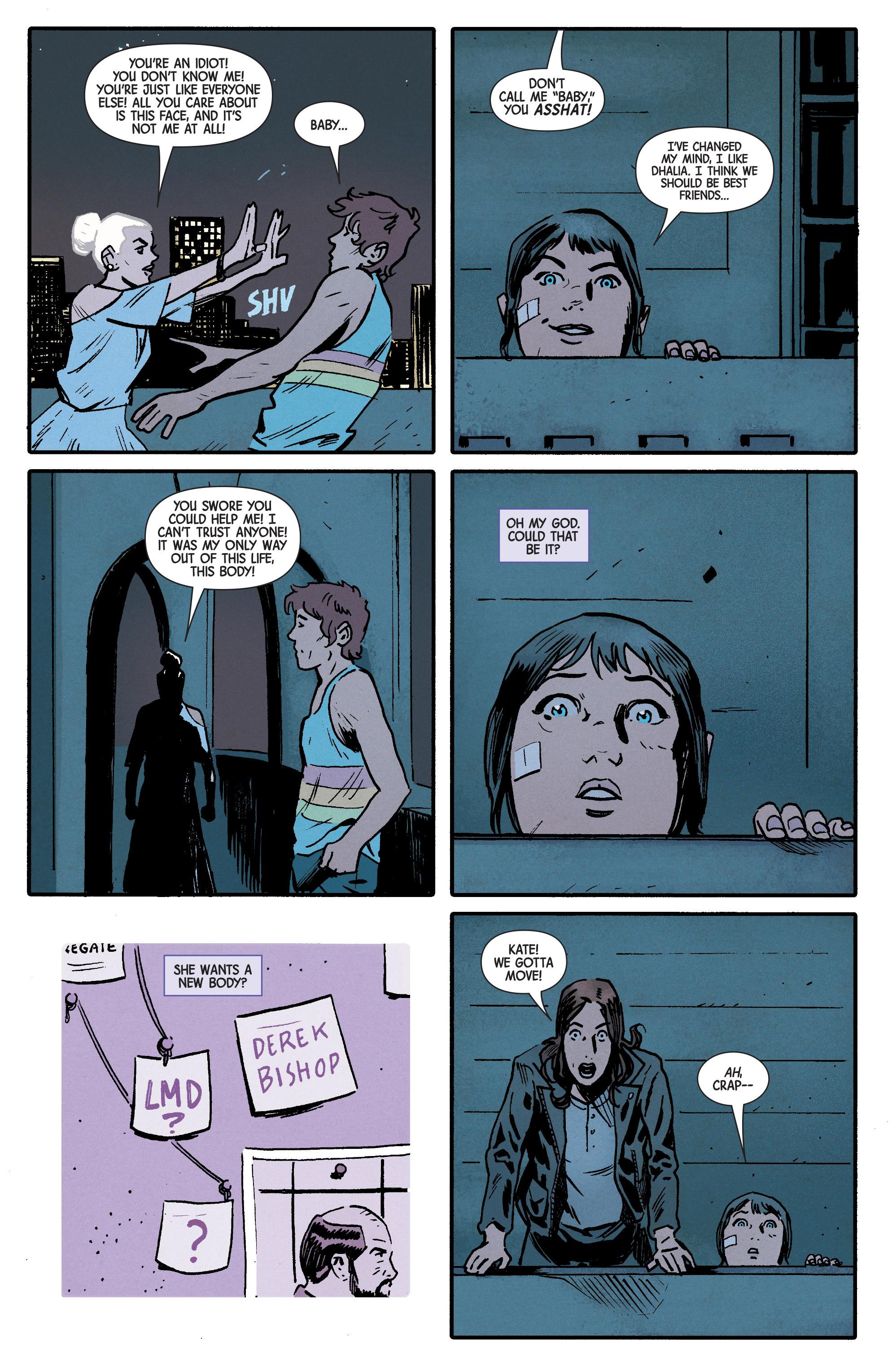 Read online Hawkeye (2016) comic -  Issue #6 - 10