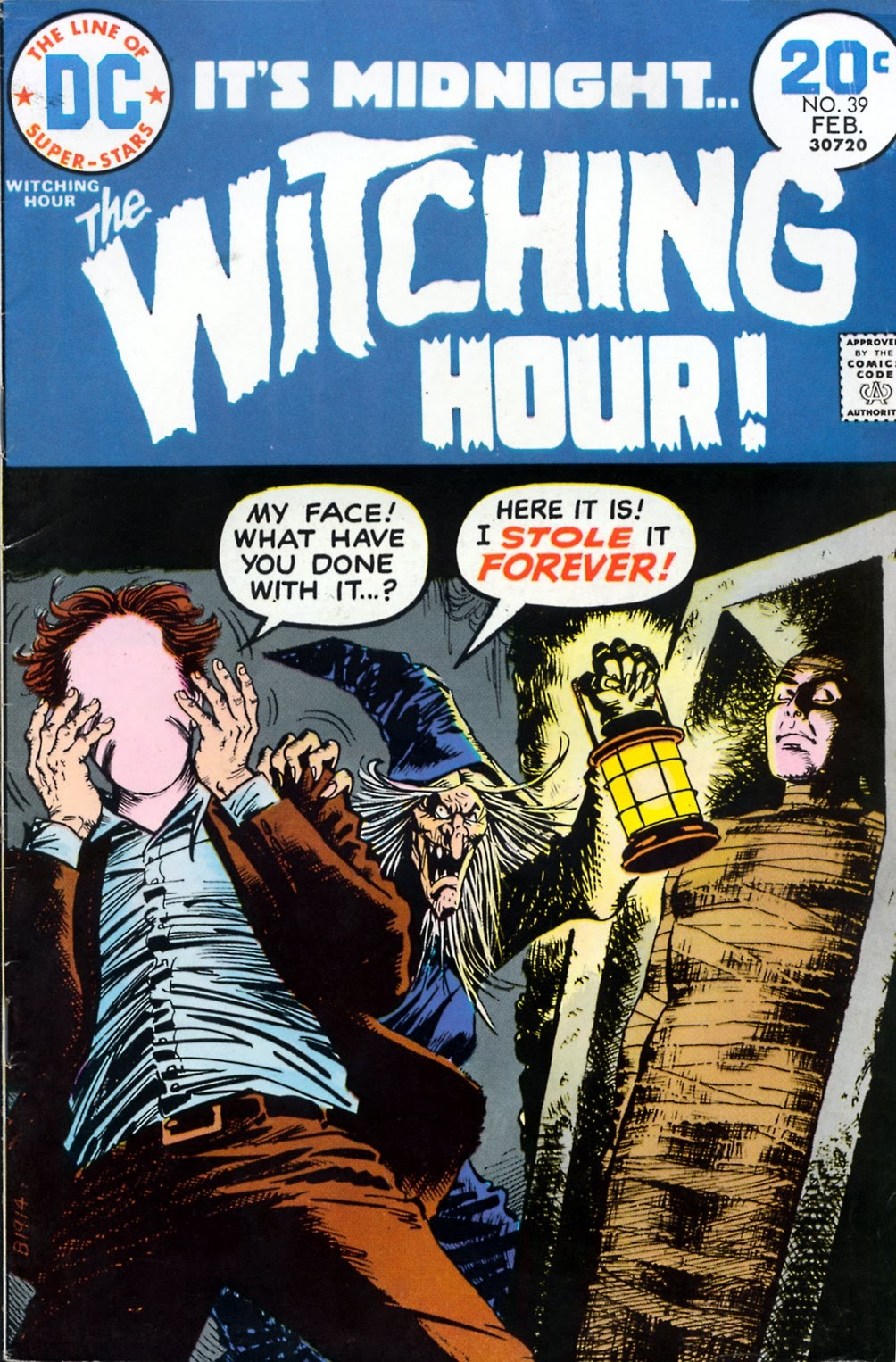 The Witching Hour (1969) issue 39 - Page 1