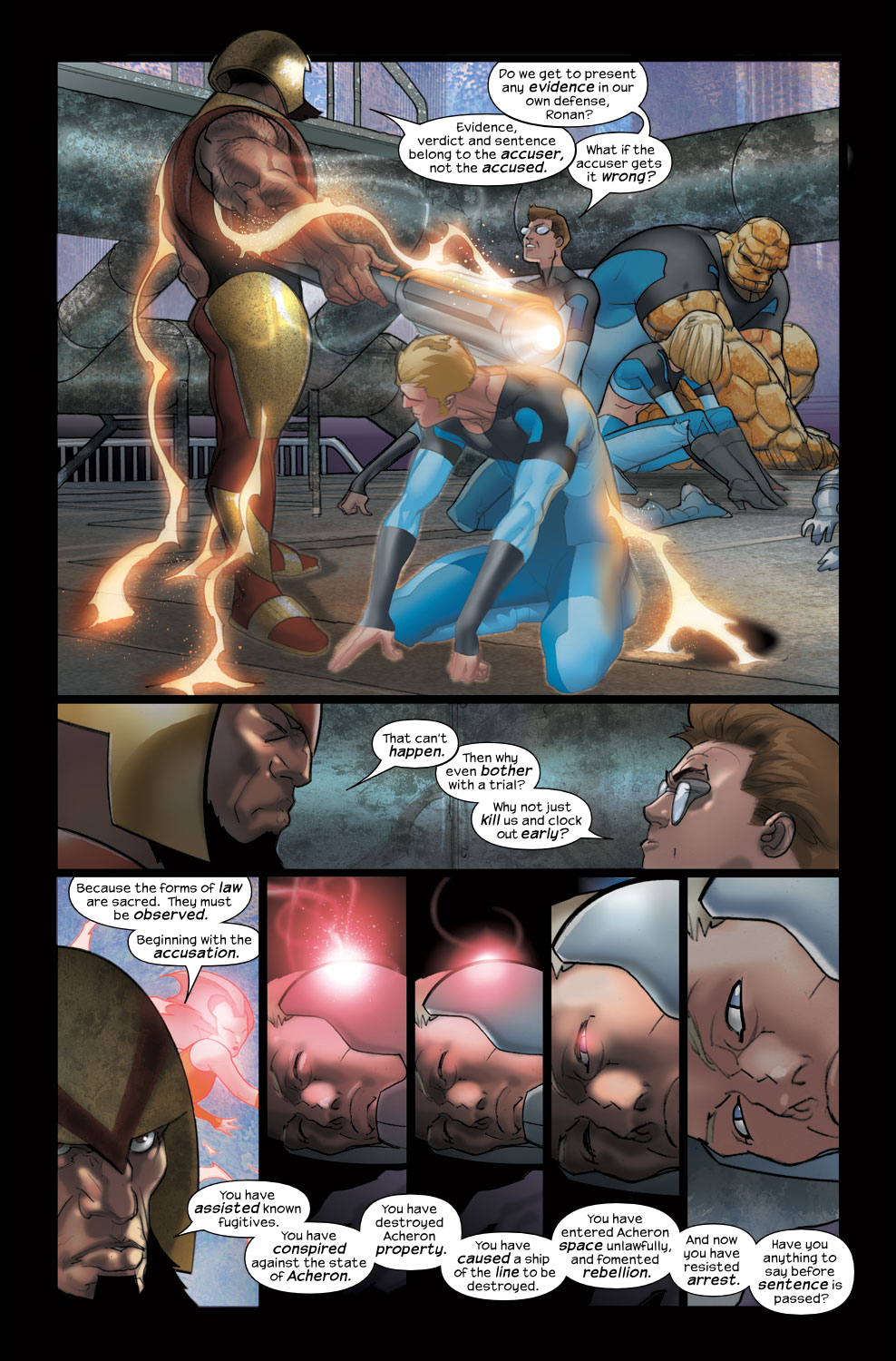 Read online Ultimate Fantastic Four (2004) comic -  Issue #38 - 9