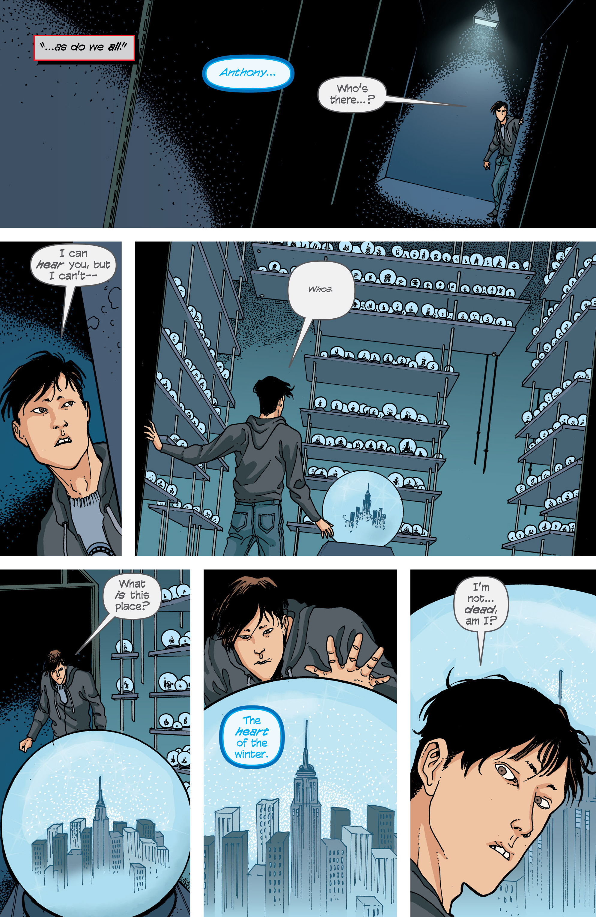 Read online Snowfall comic -  Issue #2 - 20