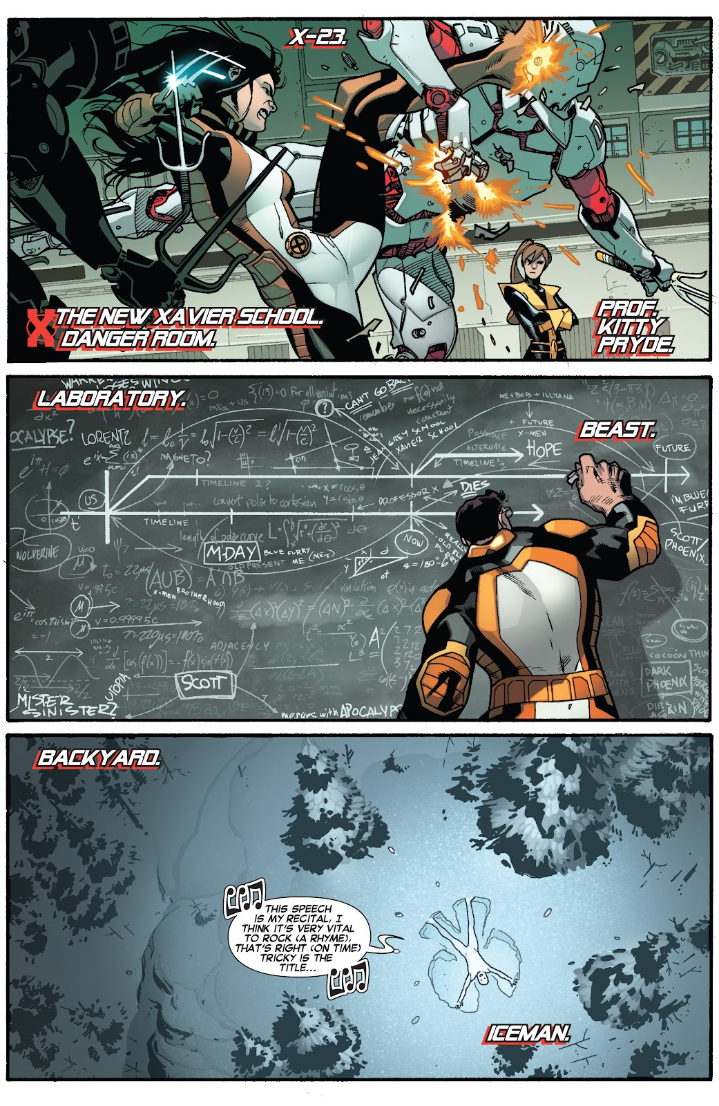 Guardians of the Galaxy/All-New X-Men: The Trial of Jean Grey issue TPB - Page 5