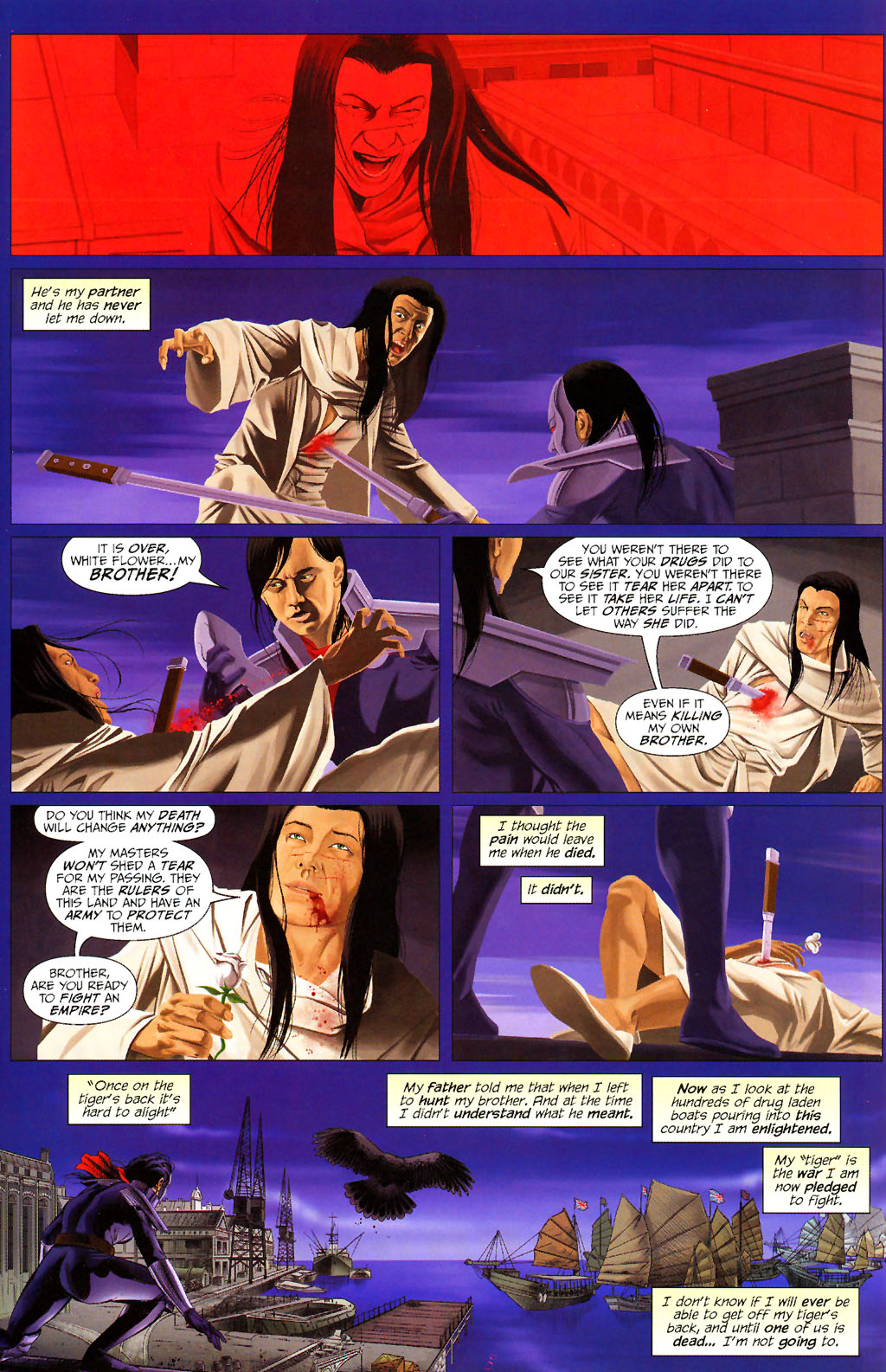 Read online ShadowHawk (2005) comic -  Issue #13 - 18