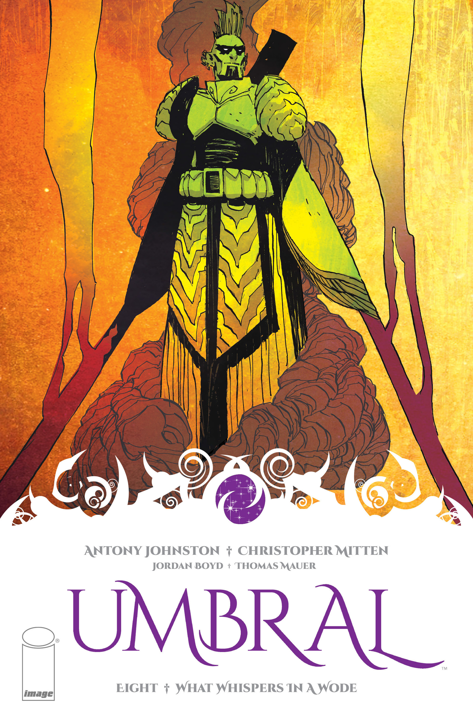 Read online Umbral comic -  Issue #8 - 1