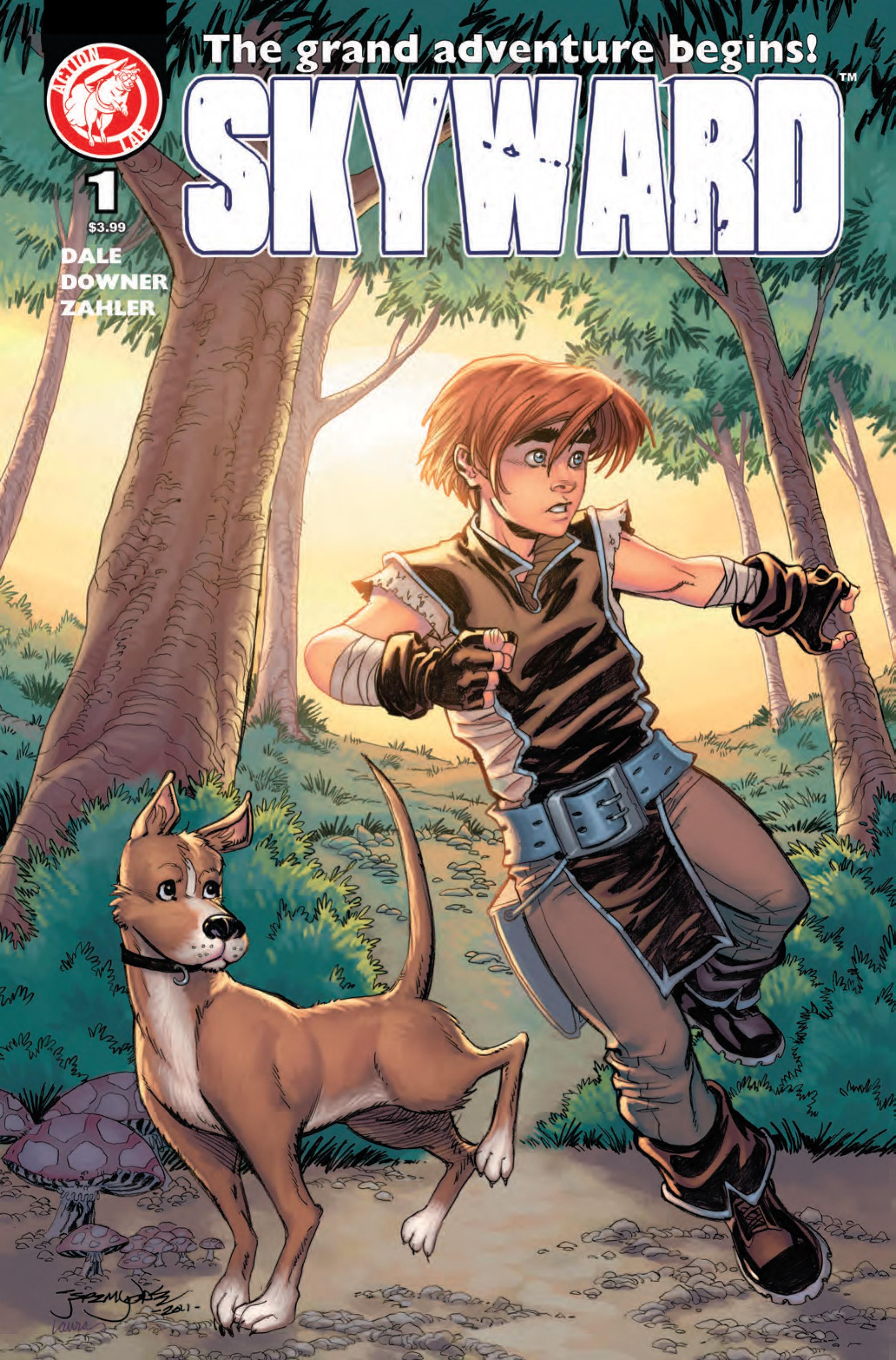 Read online Skyward comic -  Issue #1 - 1