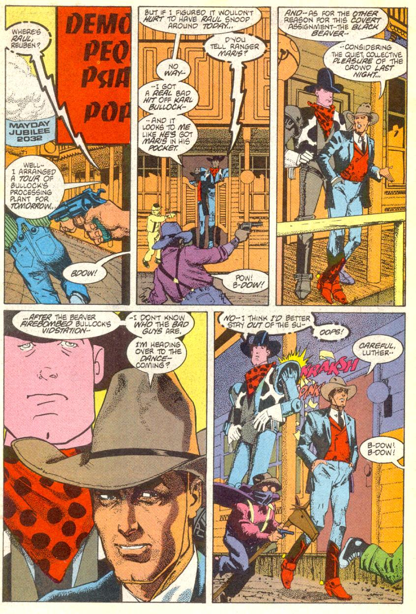 American Flagg! issue 16 - Page 2