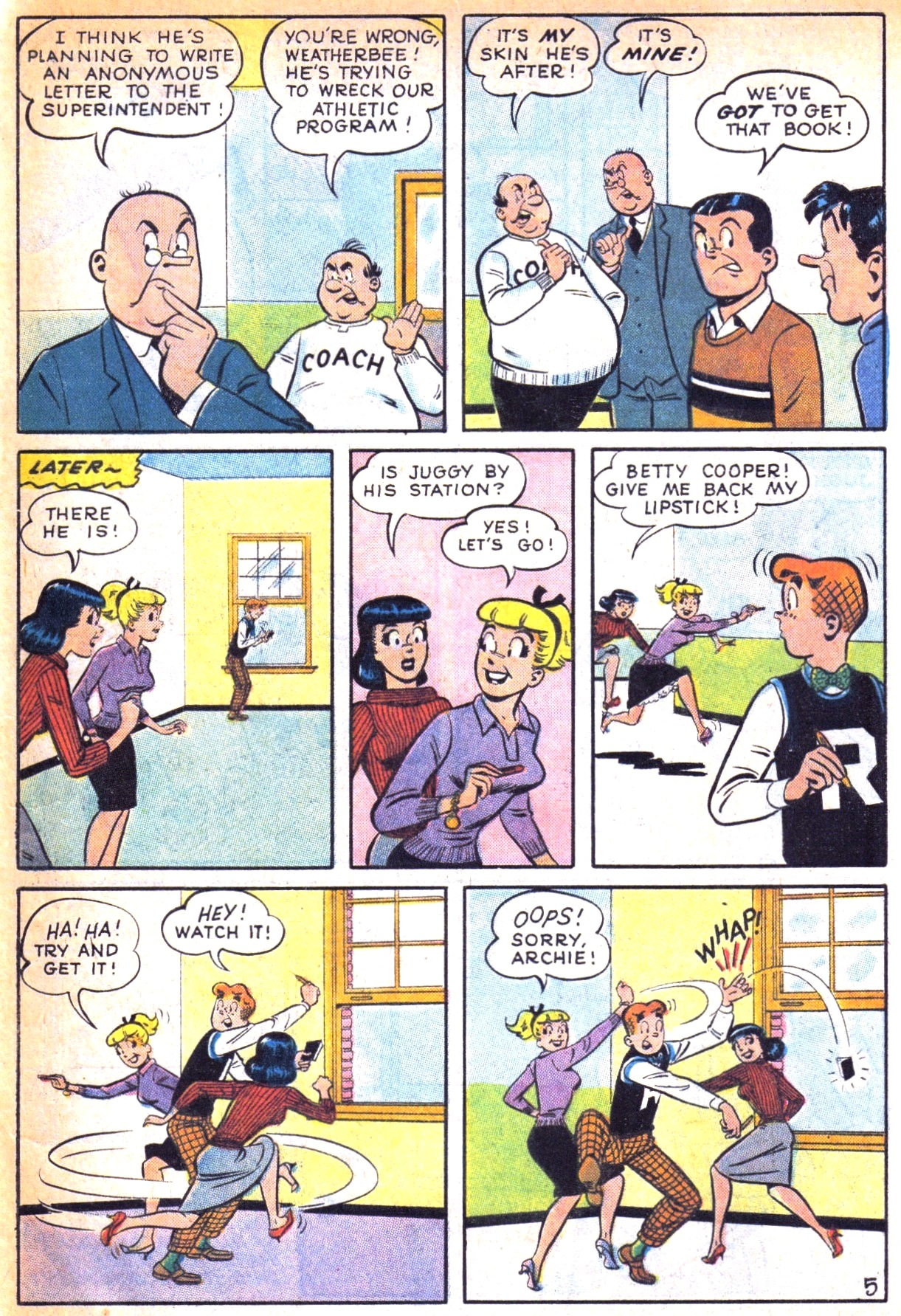 Read online Archie (1960) comic -  Issue #129 - 33