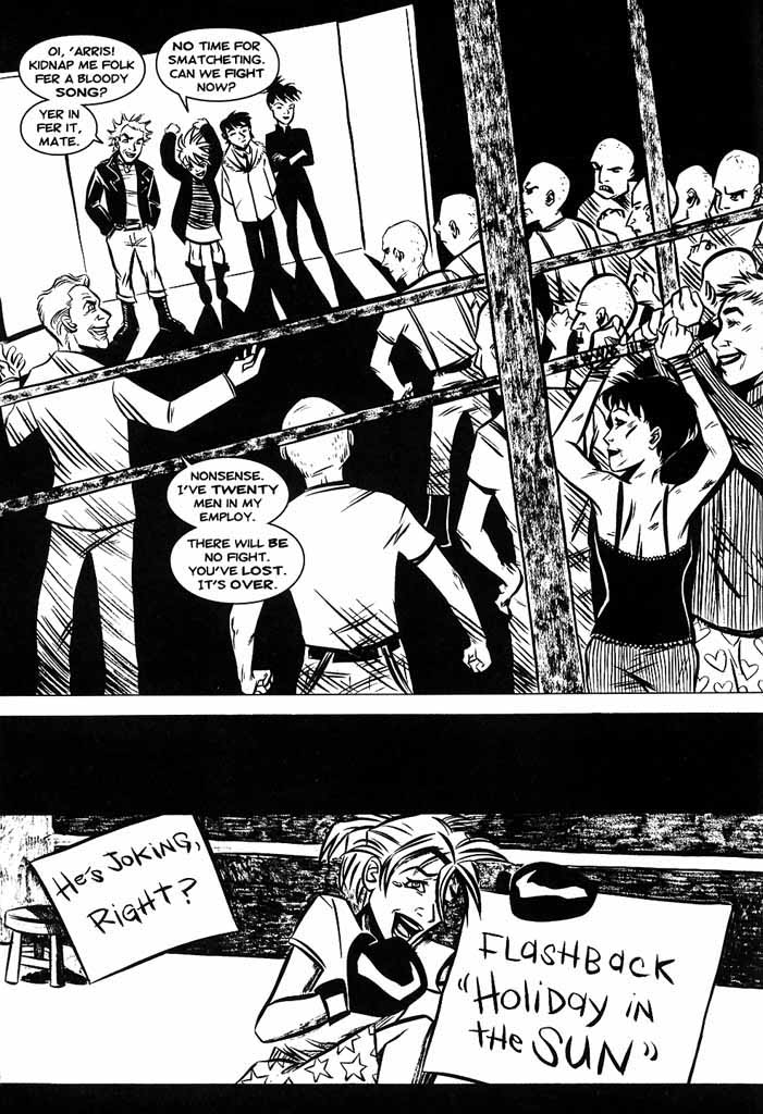Read online Hopeless Savages comic -  Issue #4 - 4