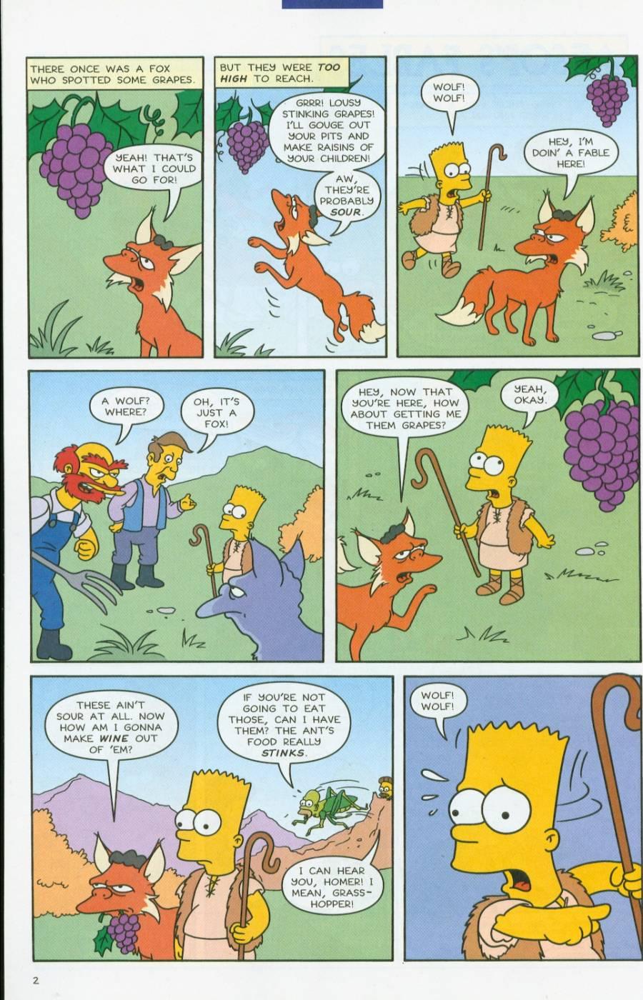 Read online Simpsons Comics comic -  Issue #70 - 25