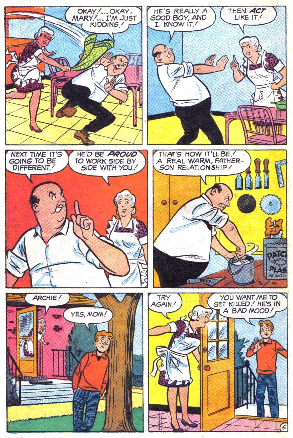 Read online Archie (1960) comic -  Issue #187 - 32
