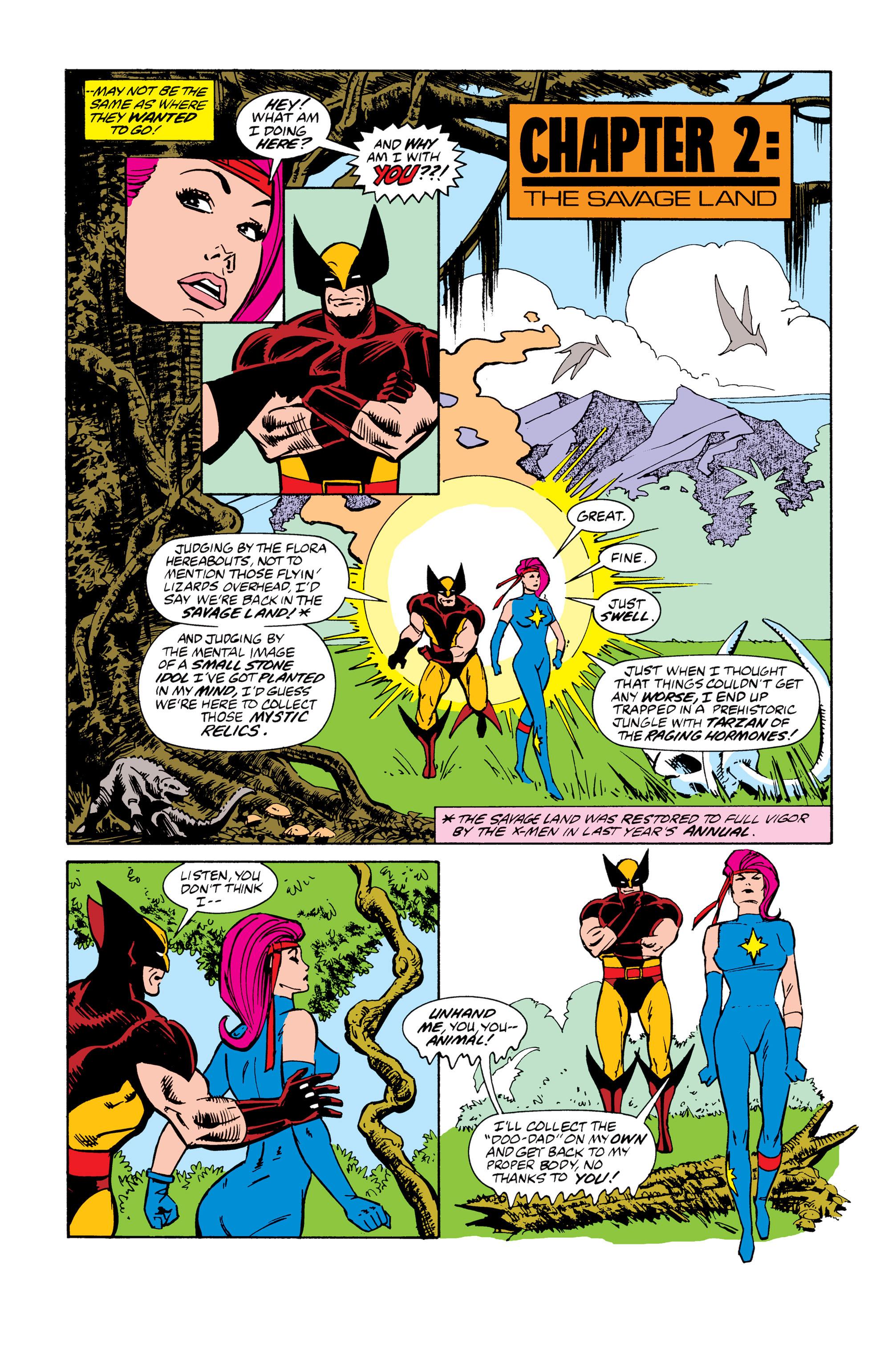 Read online Uncanny X-Men (1963) comic -  Issue # _Annual 13 - 10