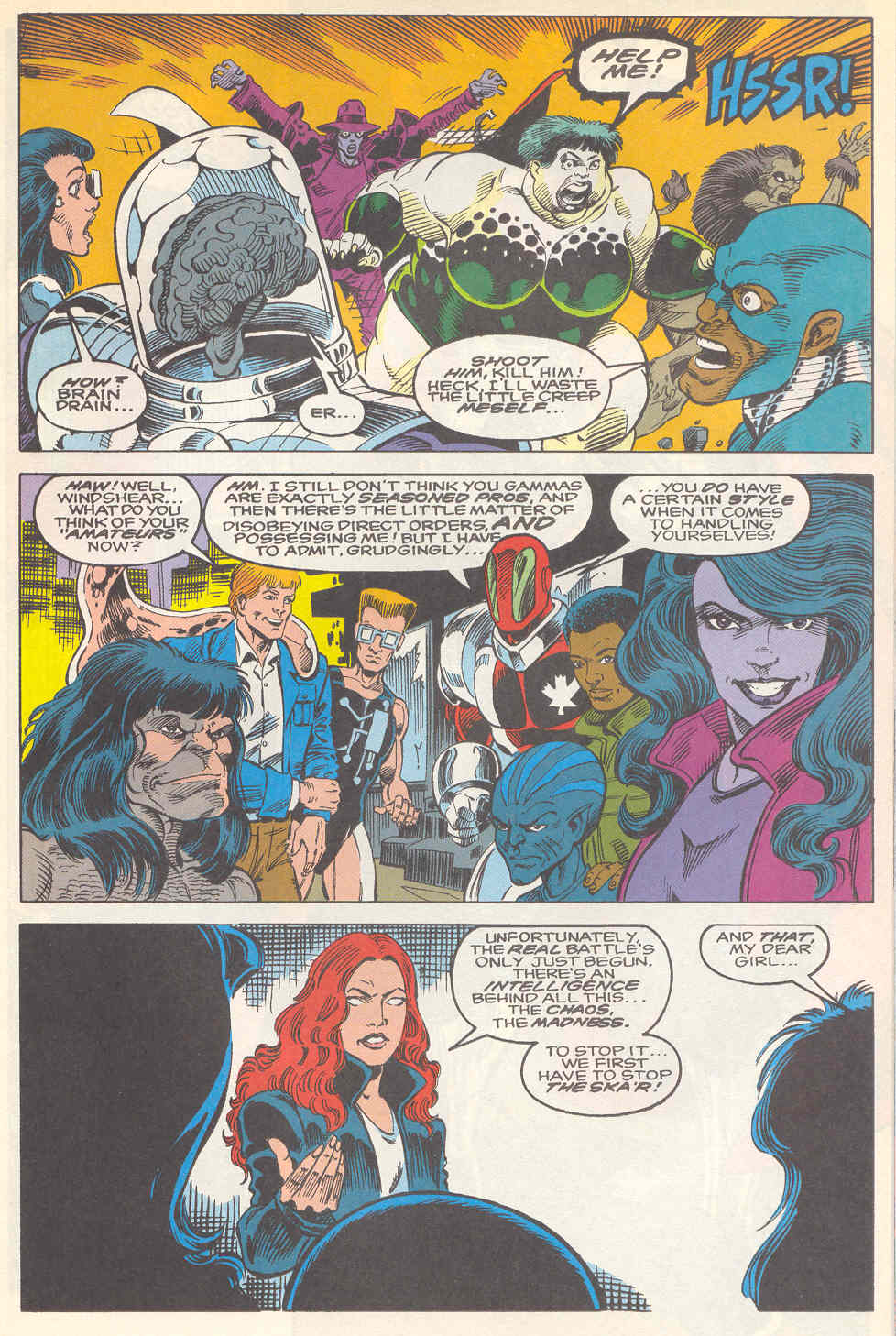 Read online Alpha Flight (1983) comic -  Issue #112 - 14