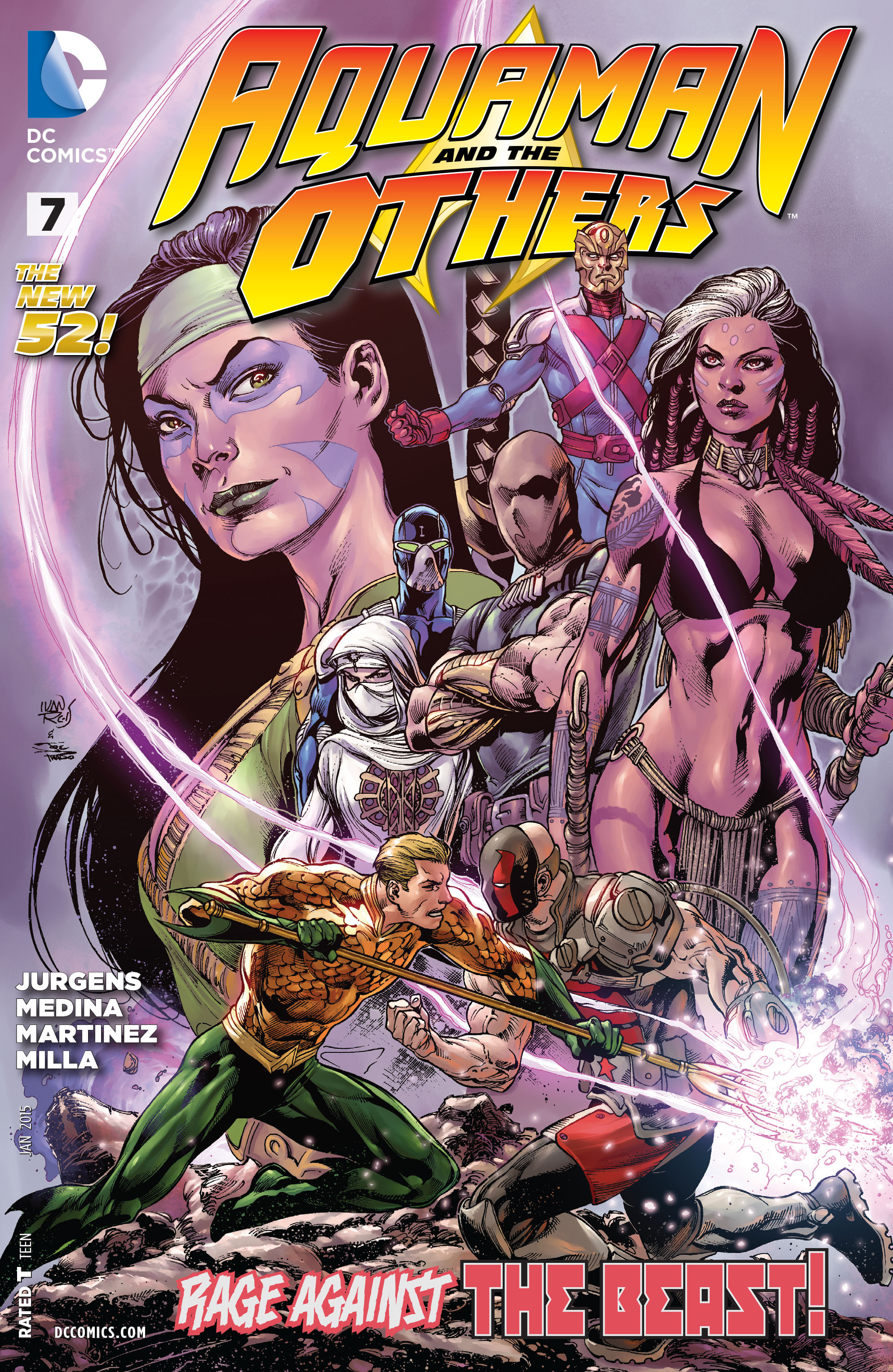 Read online Aquaman and the Others comic -  Issue #7 - 1