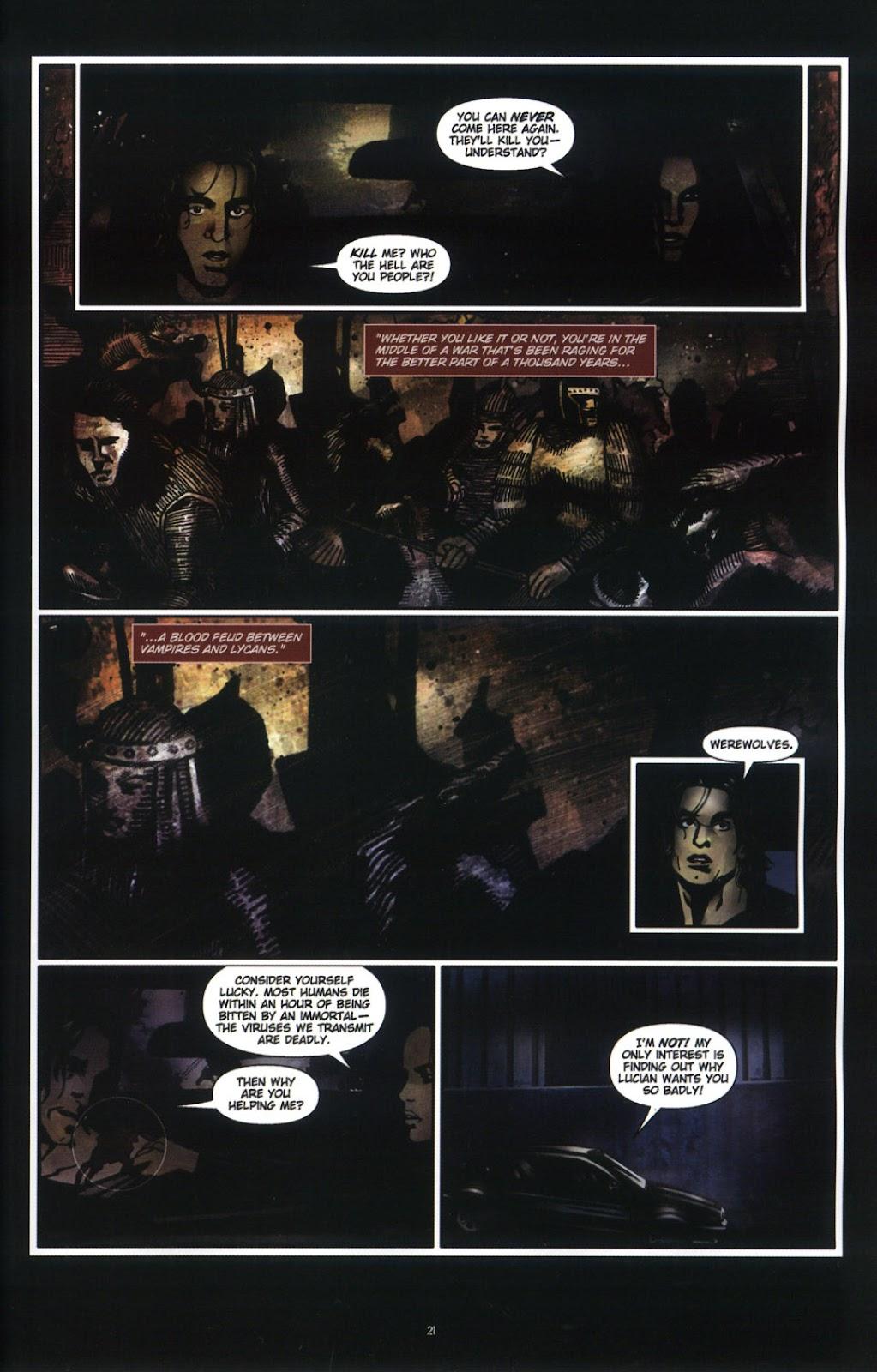 Read online Underworld (2003) comic -  Issue # Full - 23