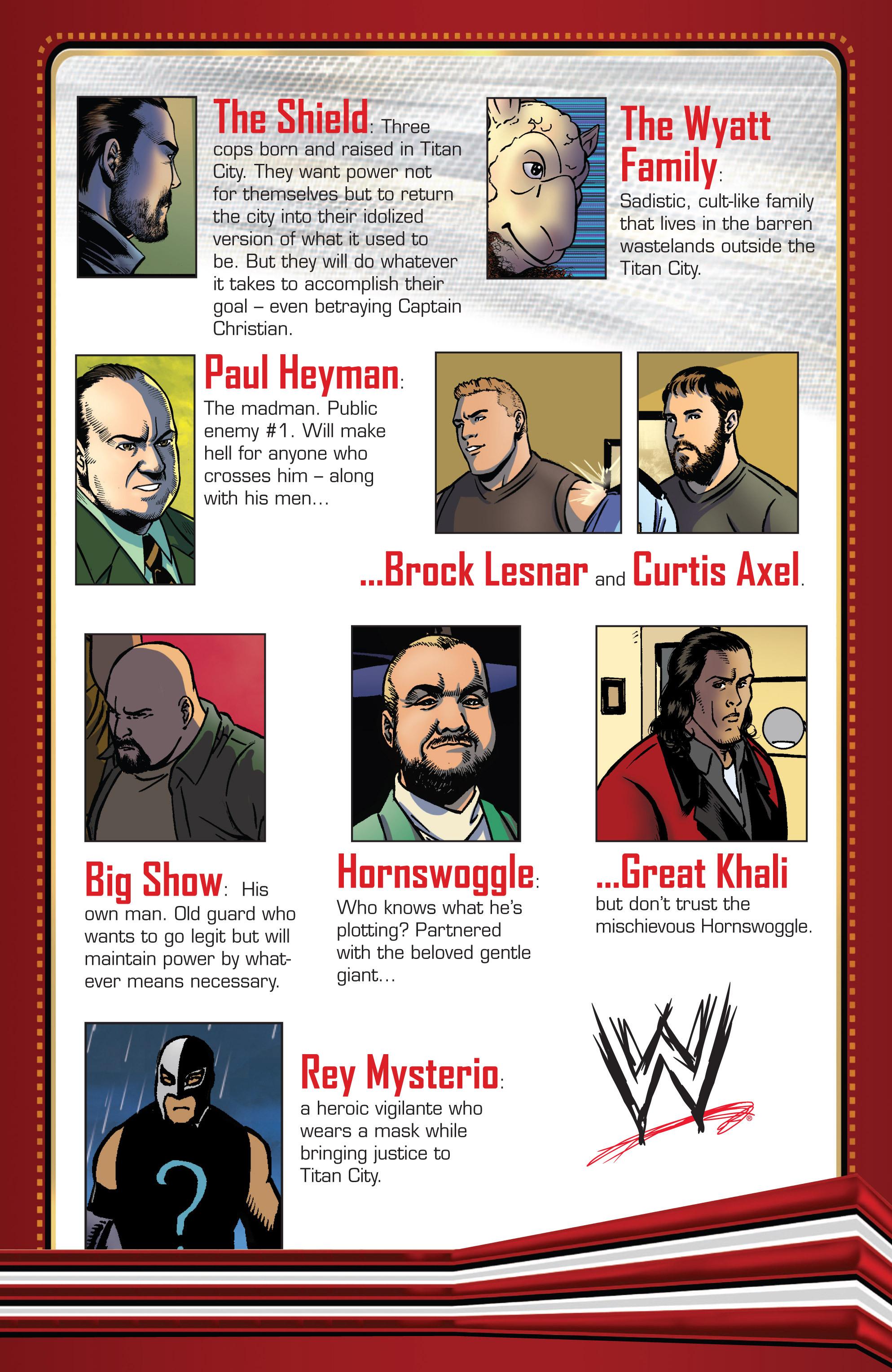 Read online WWE Superstars comic -  Issue #2 - 25