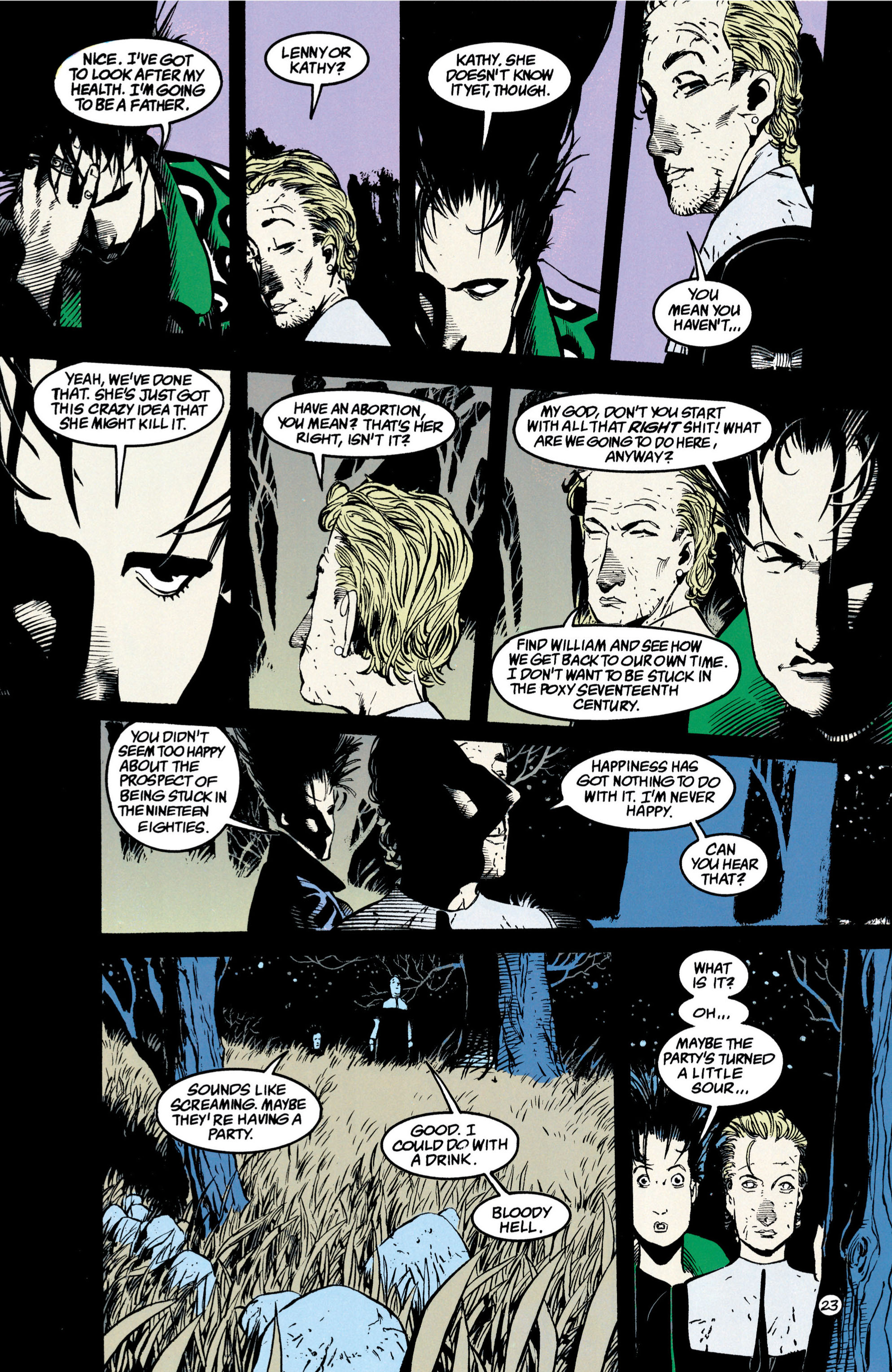 Read online Shade, the Changing Man comic -  Issue #42 - 24