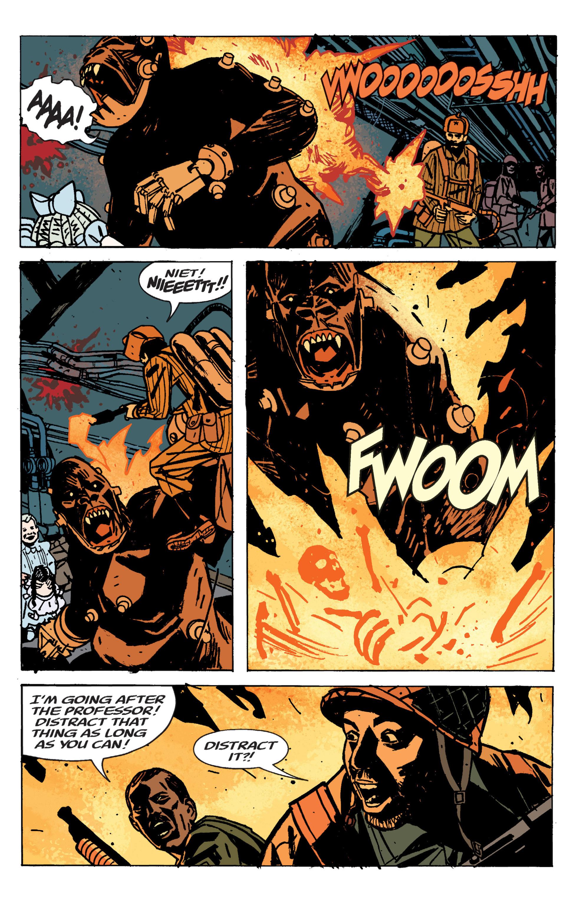 Read online B.P.R.D. (2003) comic -  Issue # TPB 9 - 117