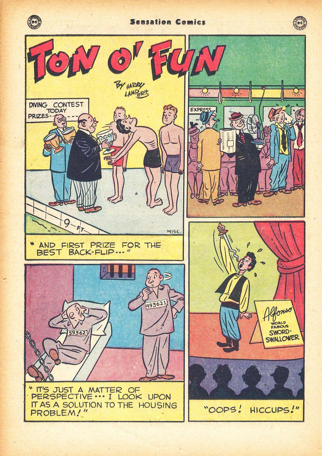 Read online Sensation (Mystery) Comics comic -  Issue #78 - 32