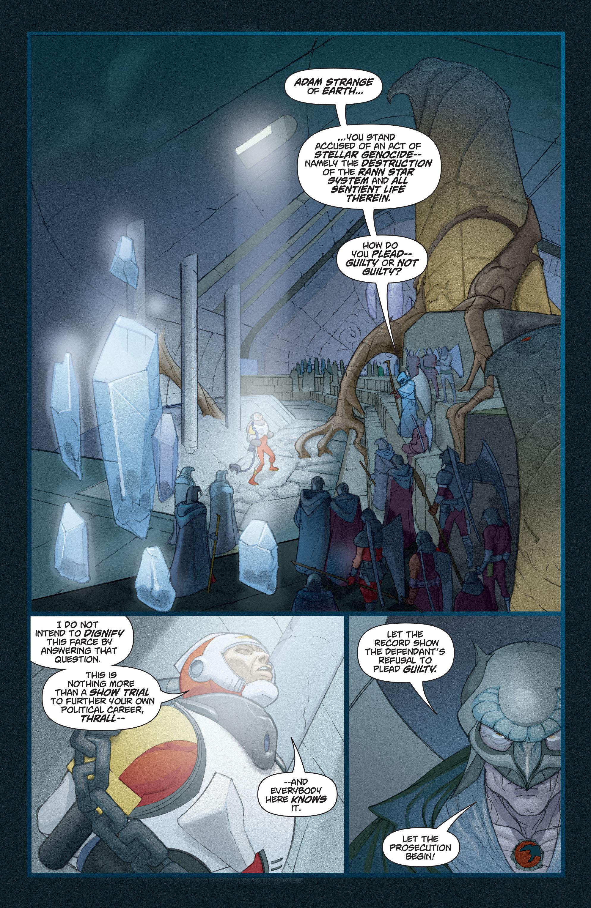 Read online Adam Strange (2004) comic -  Issue #3 - 17