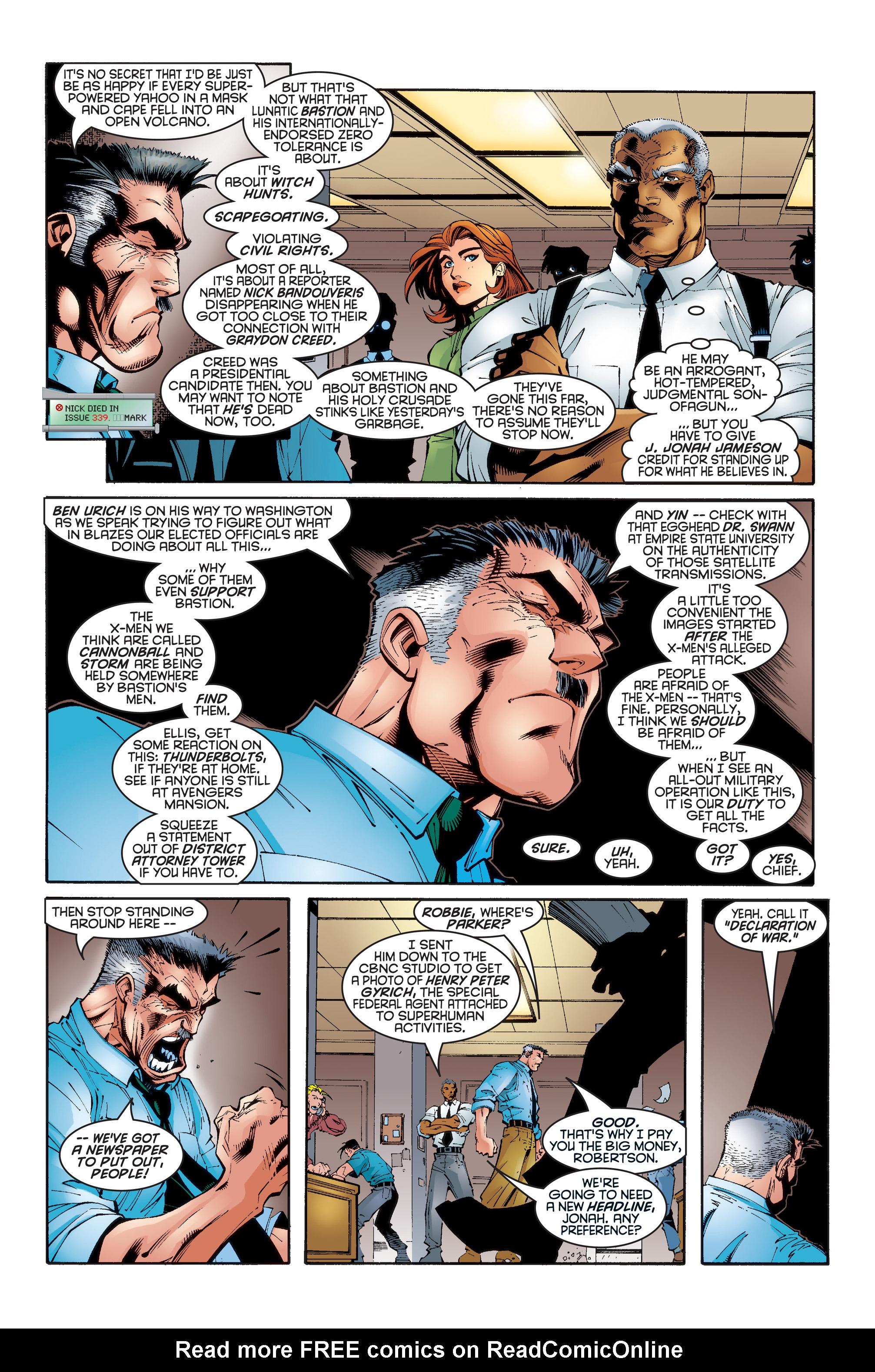 Read online Uncanny X-Men (1963) comic -  Issue #346 - 4